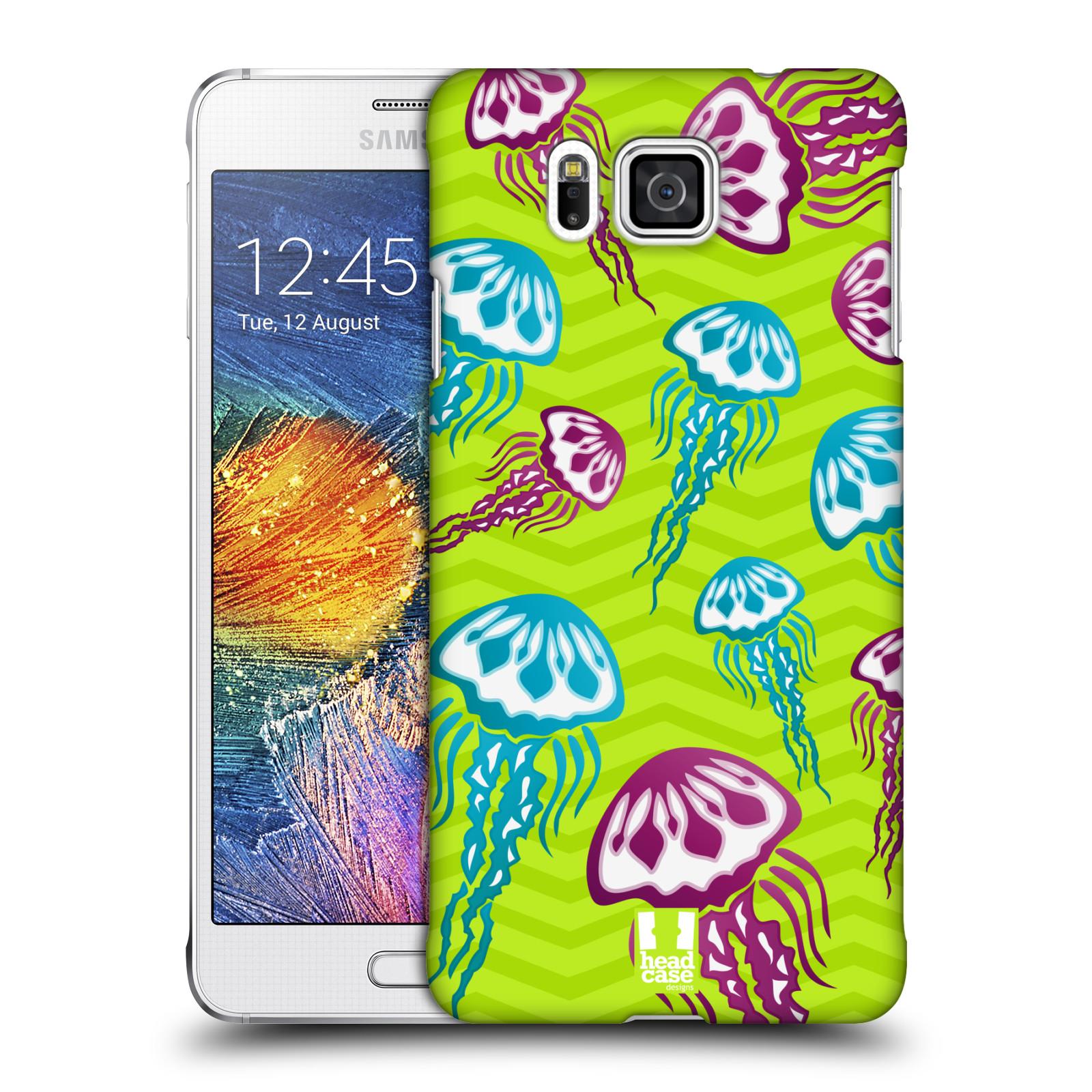 HEAD CASE plastový obal na mobil SAMSUNG Galaxy Alpha (G850) vzor mořský živočich medůza