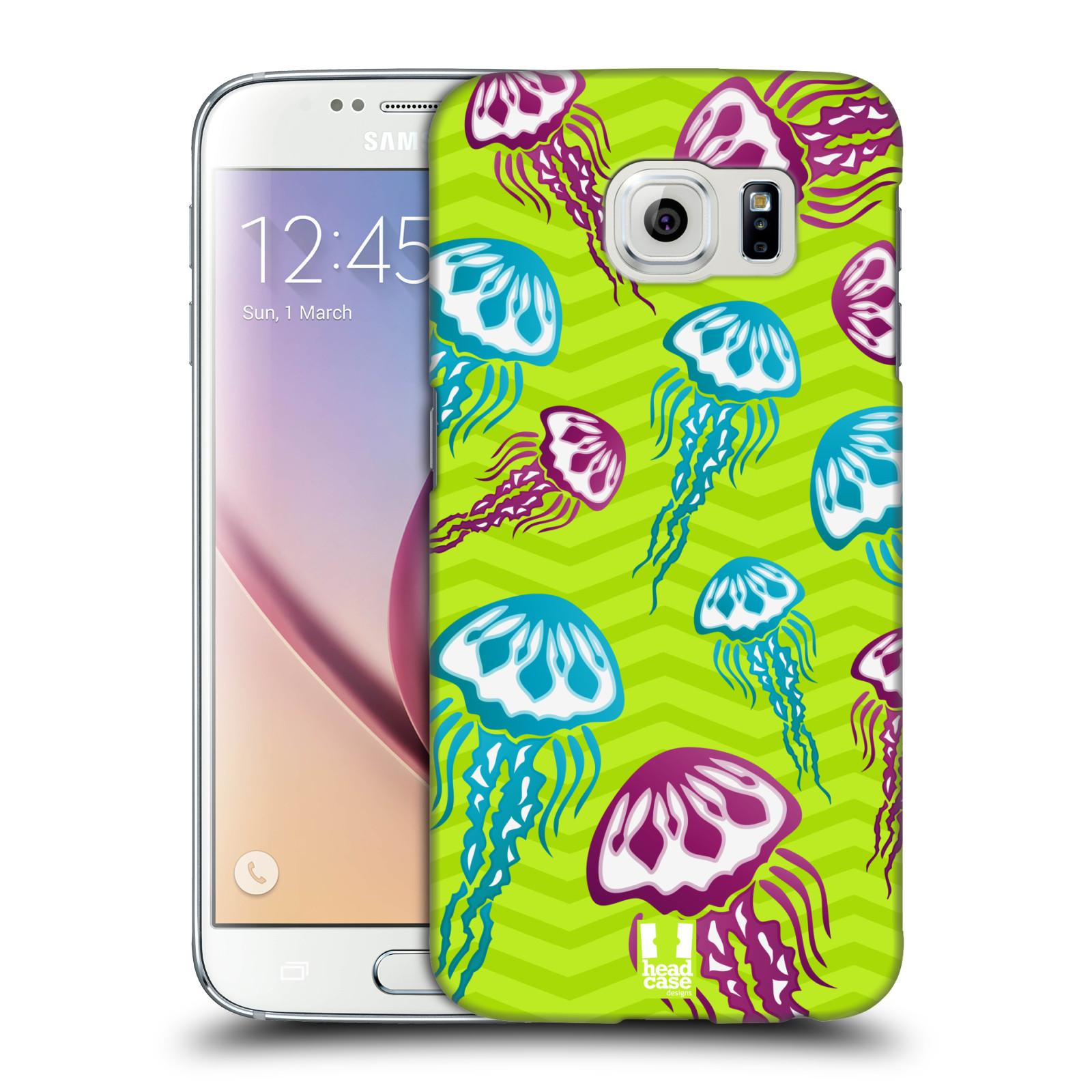 HEAD CASE plastový obal na mobil SAMSUNG Galaxy S6 (G9200, G920F) vzor mořský živočich medůza