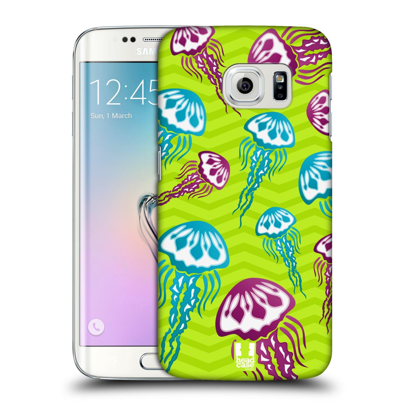 HEAD CASE plastový obal na mobil SAMSUNG Galaxy S6 EDGE (G9250, G925, G925F) vzor mořský živočich medůza