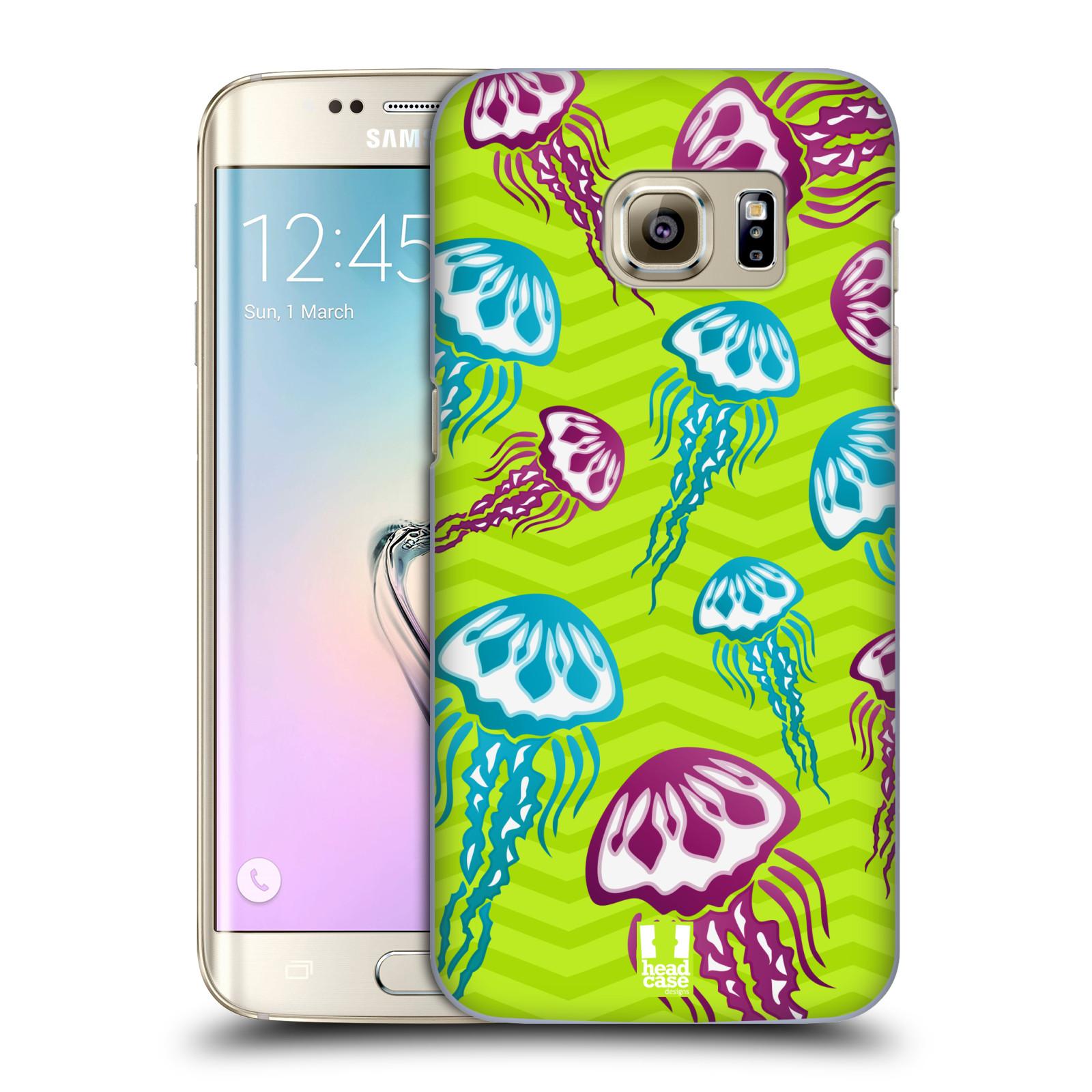 HEAD CASE plastový obal na mobil SAMSUNG GALAXY S7 EDGE vzor mořský živočich medůza