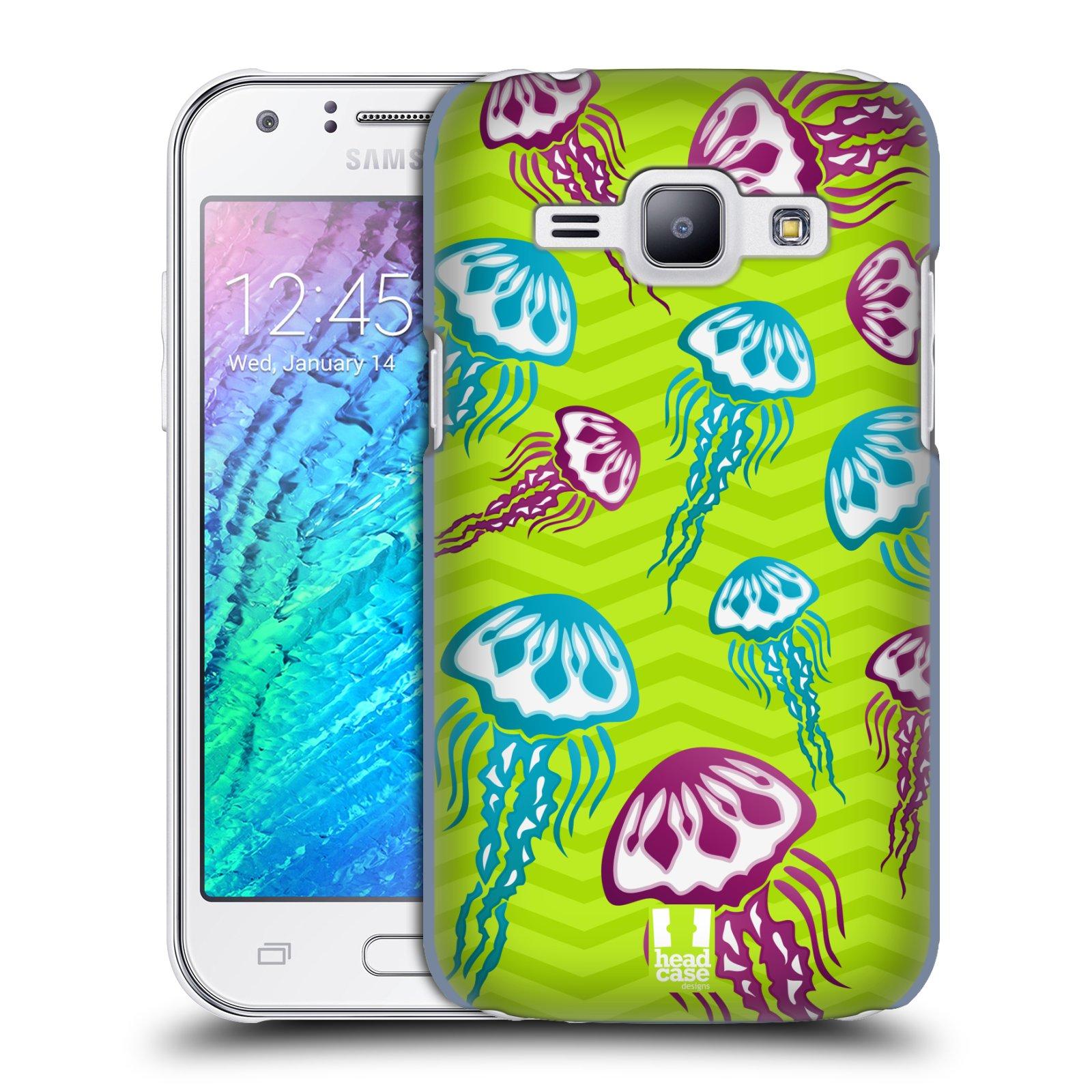 HEAD CASE plastový obal na mobil SAMSUNG Galaxy J1, J100 vzor mořský živočich medůza