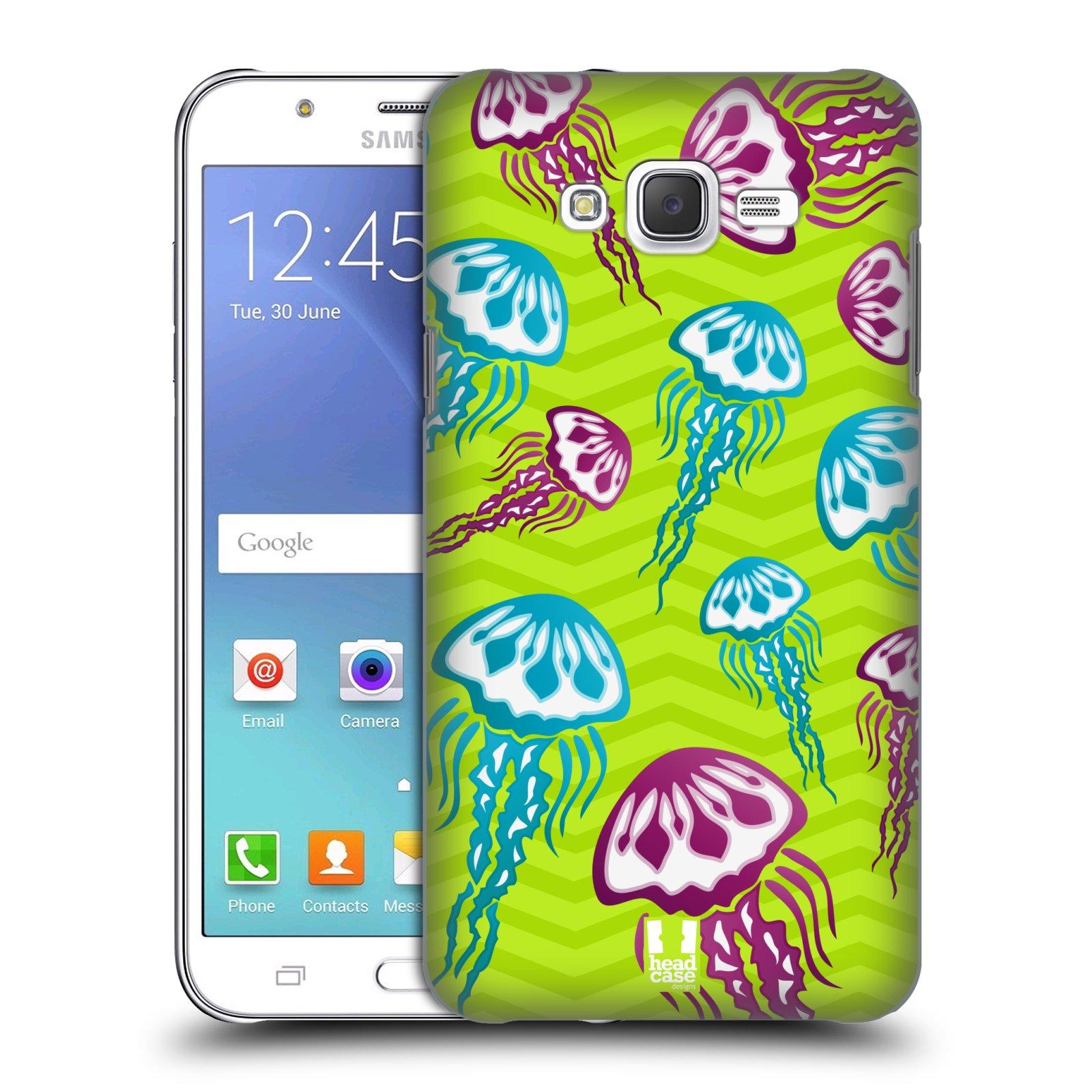 HEAD CASE plastový obal na mobil SAMSUNG Galaxy J7, J700 vzor mořský živočich medůza