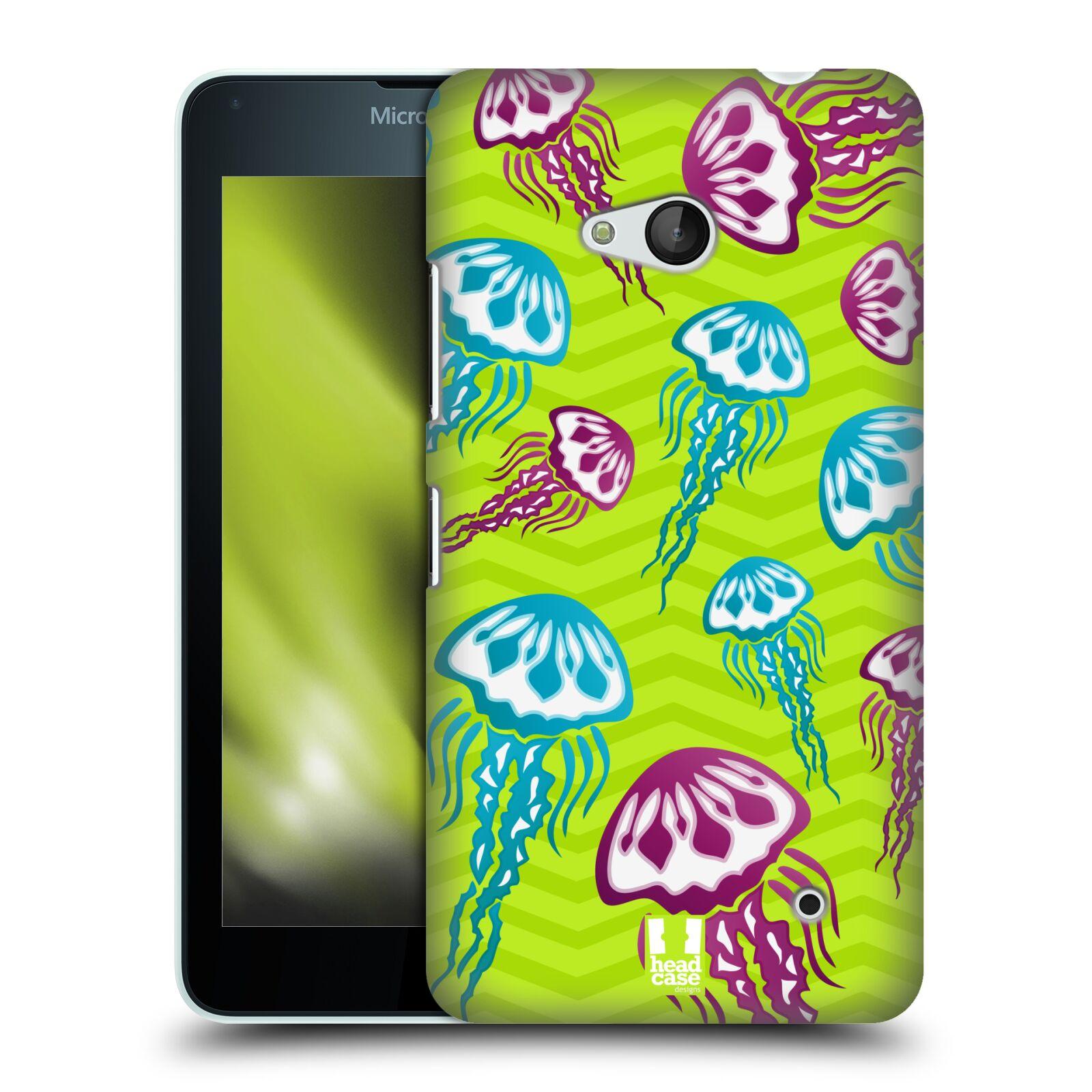 HEAD CASE plastový obal na mobil Nokia Lumia 640 vzor mořský živočich medůza