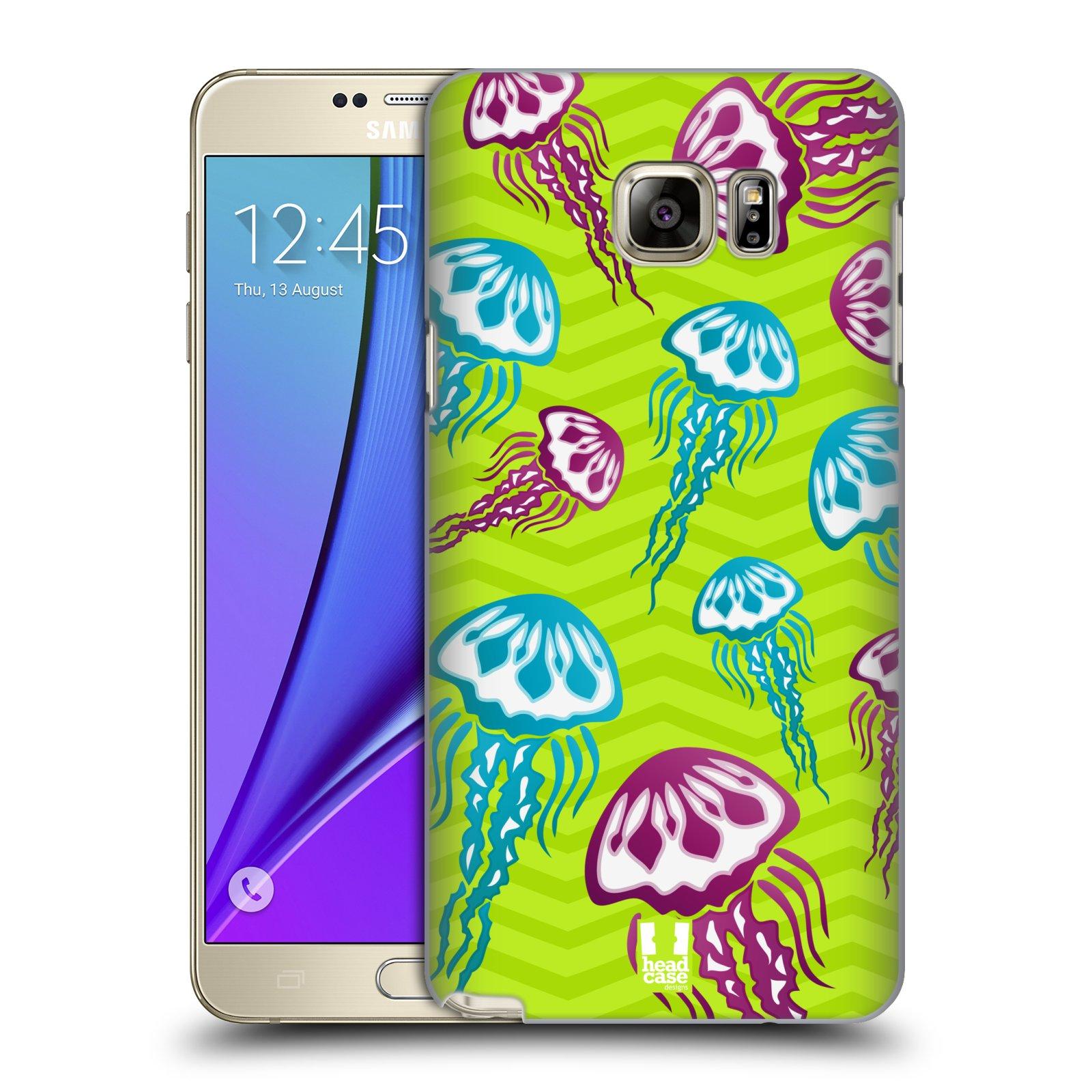 HEAD CASE plastový obal na mobil SAMSUNG Galaxy Note 5 (N920) vzor mořský živočich medůza