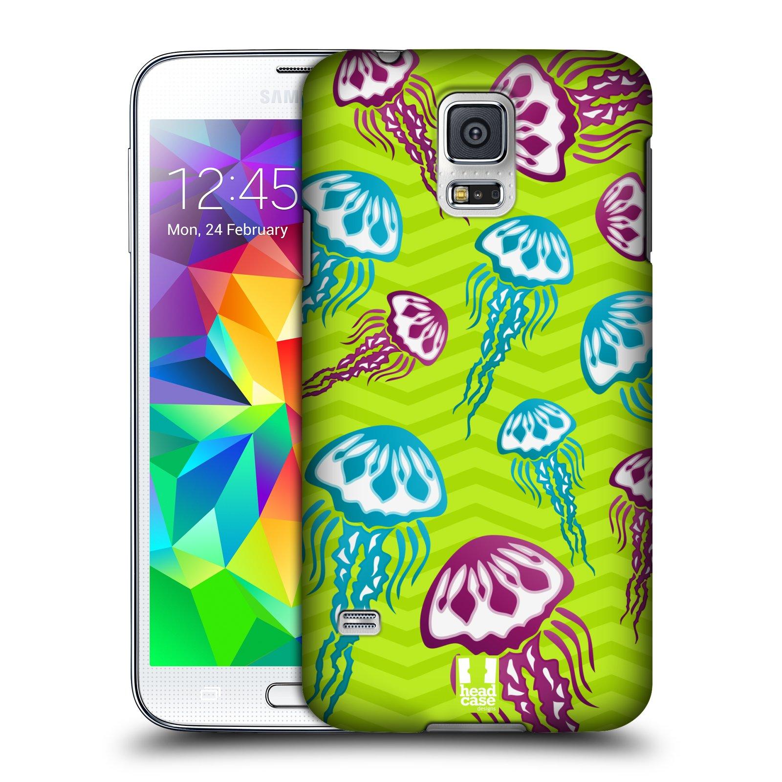 HEAD CASE plastový obal na mobil SAMSUNG Galaxy SS / S5 NEO (G900, G903F) vzor mořský živočich medůza