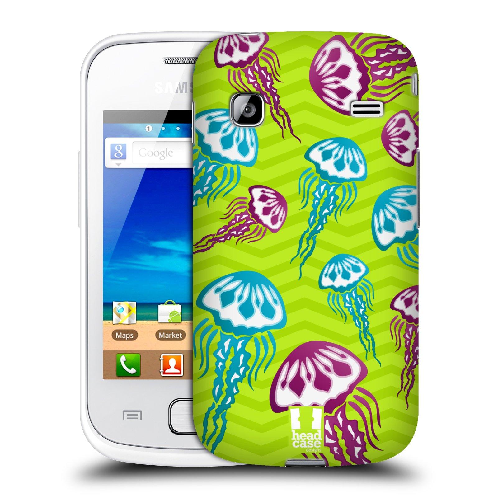 HEAD CASE plastový obal na mobil SAMSUNG GALAXY GIO (S5660) vzor mořský živočich medůza