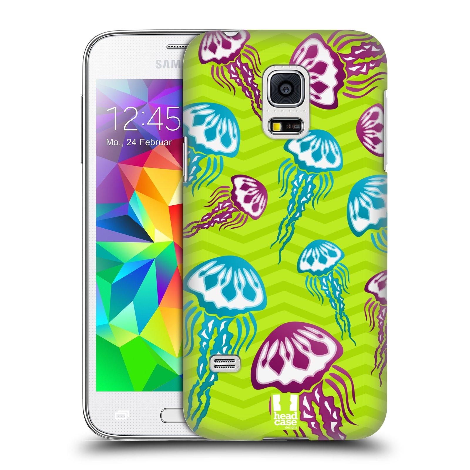 HEAD CASE plastový obal na mobil SAMSUNG Galaxy S5 MINI / S5 MINI DUOS vzor mořský živočich medůza