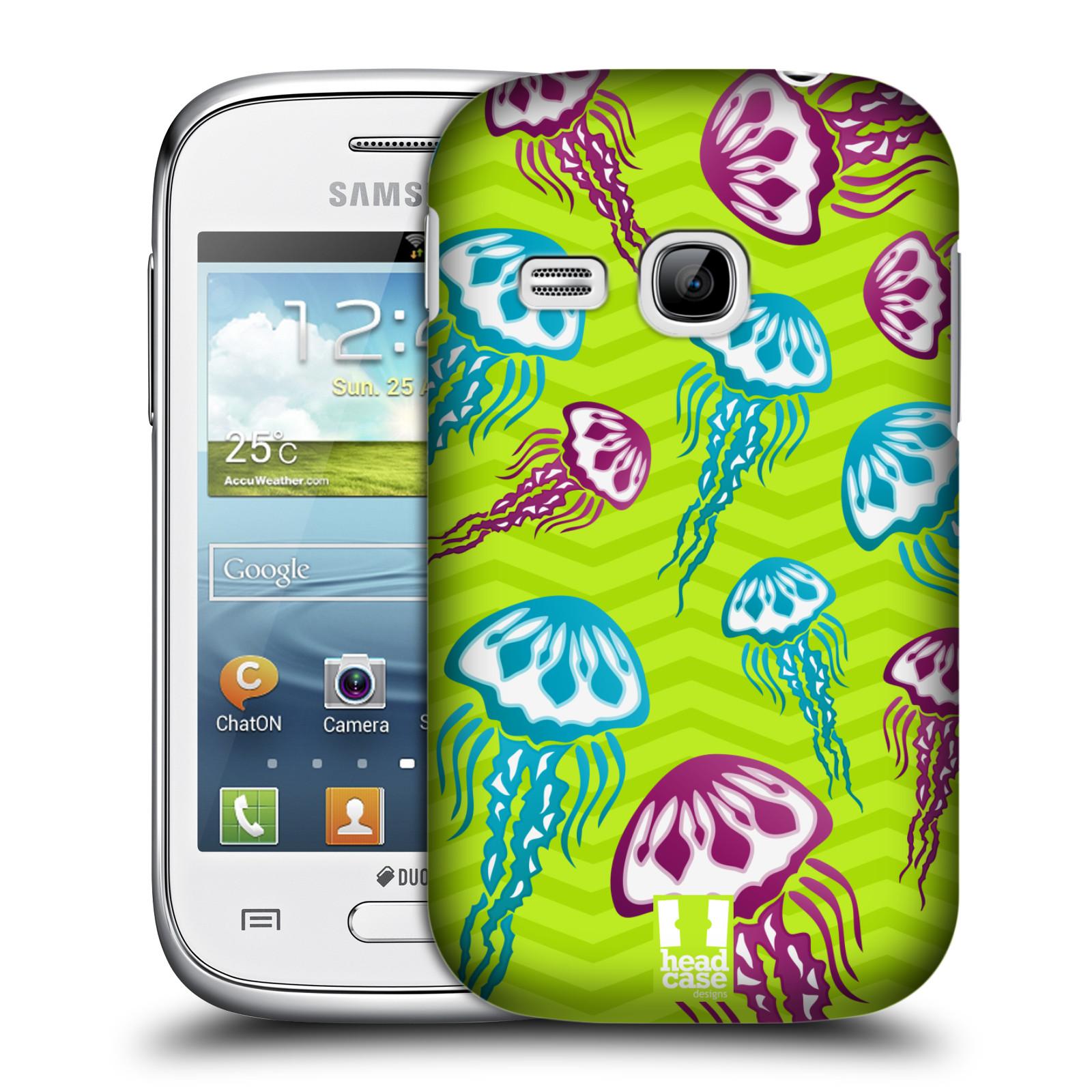 HEAD CASE plastový obal na mobil SAMSUNG Galaxy Young S6310 vzor mořský živočich medůza