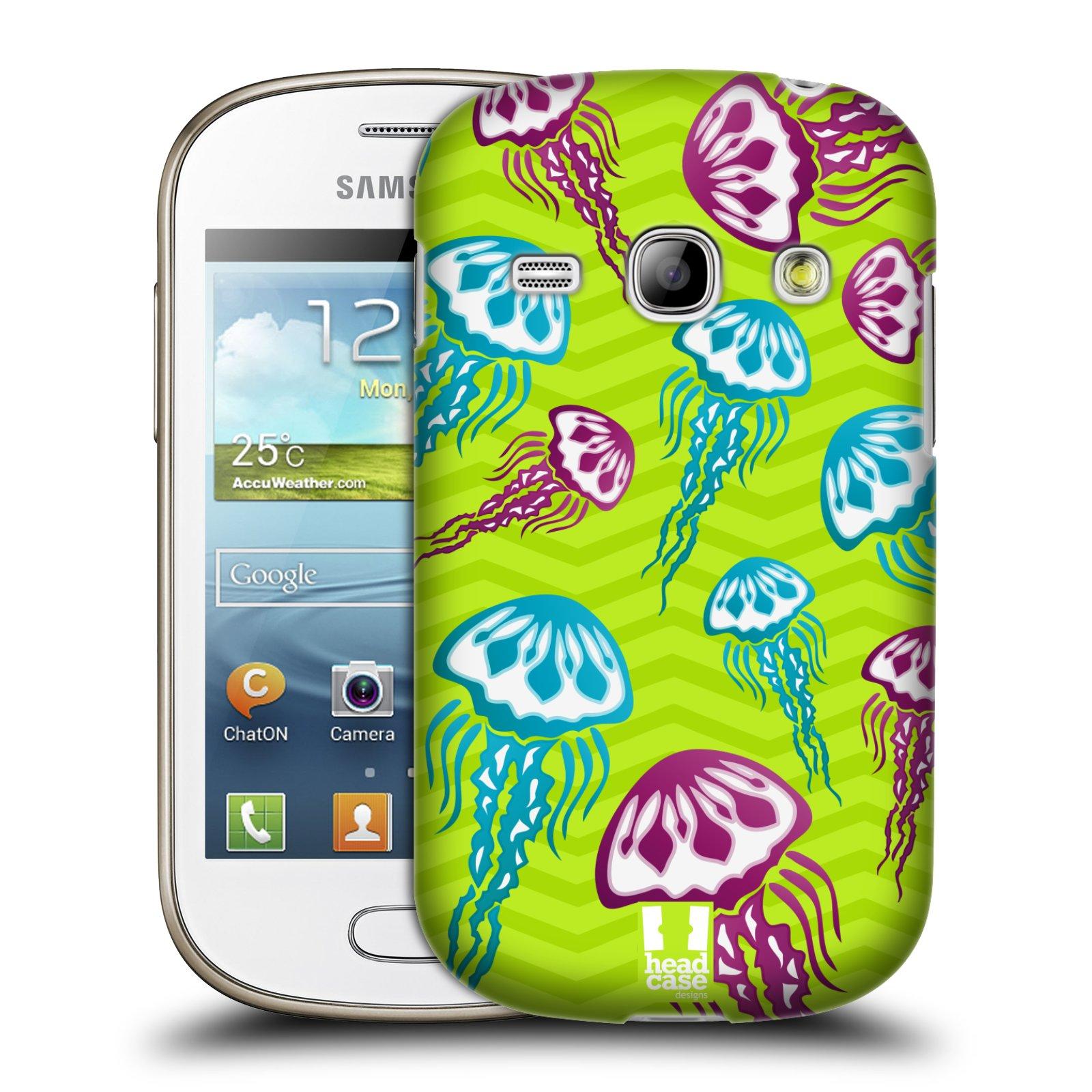 HEAD CASE plastový obal na mobil SAMSUNG GALAXY FAME (S6810) vzor mořský živočich medůza