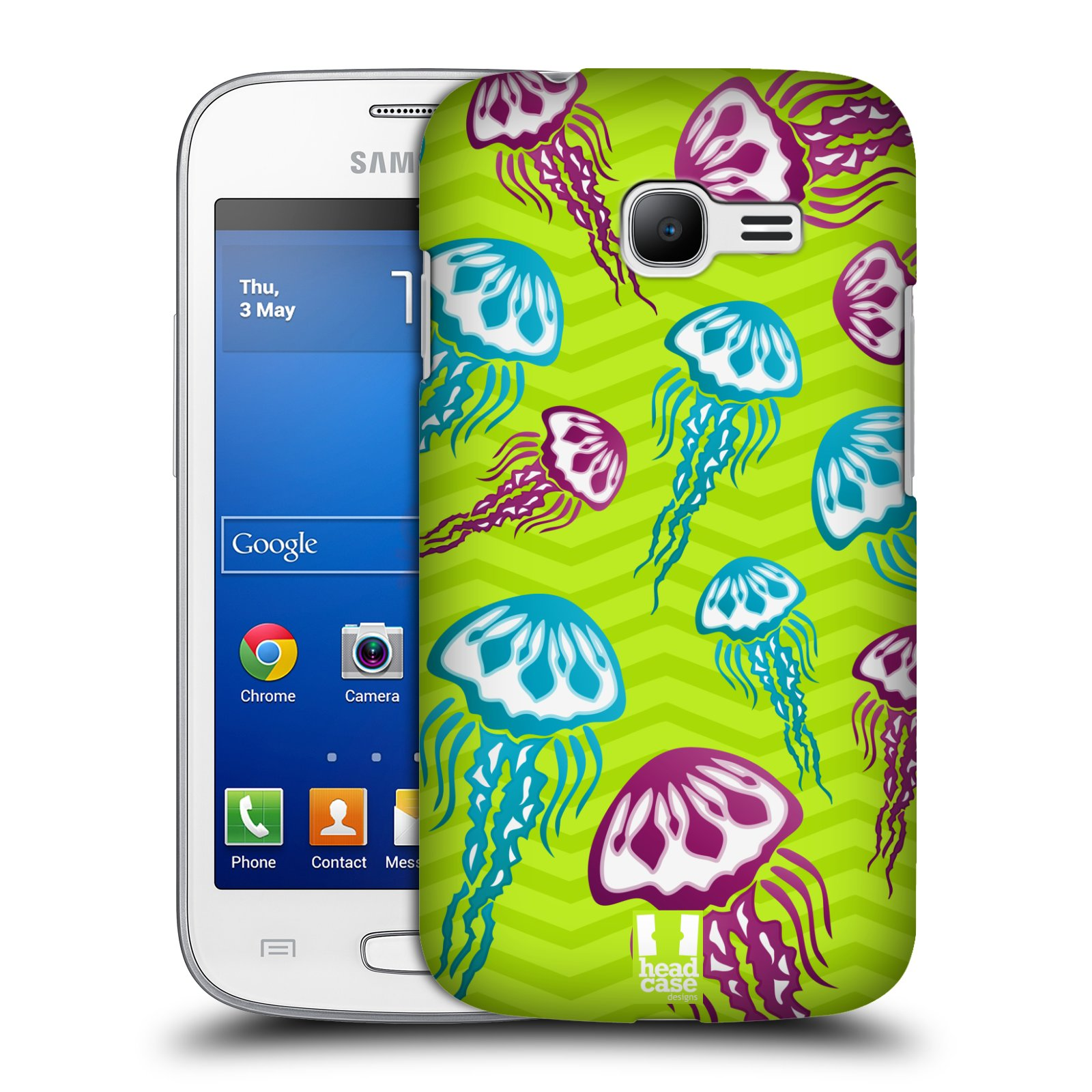 HEAD CASE plastový obal na mobil SAMSUNG GALAXY Star Pro S7260/S7262 DUOS vzor mořský živočich medůza