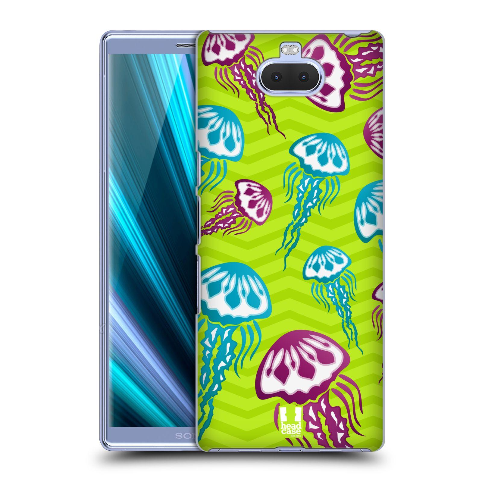 Pouzdro na mobil Sony Xperia 10 - Head Case - vzor mořský živočich medůza