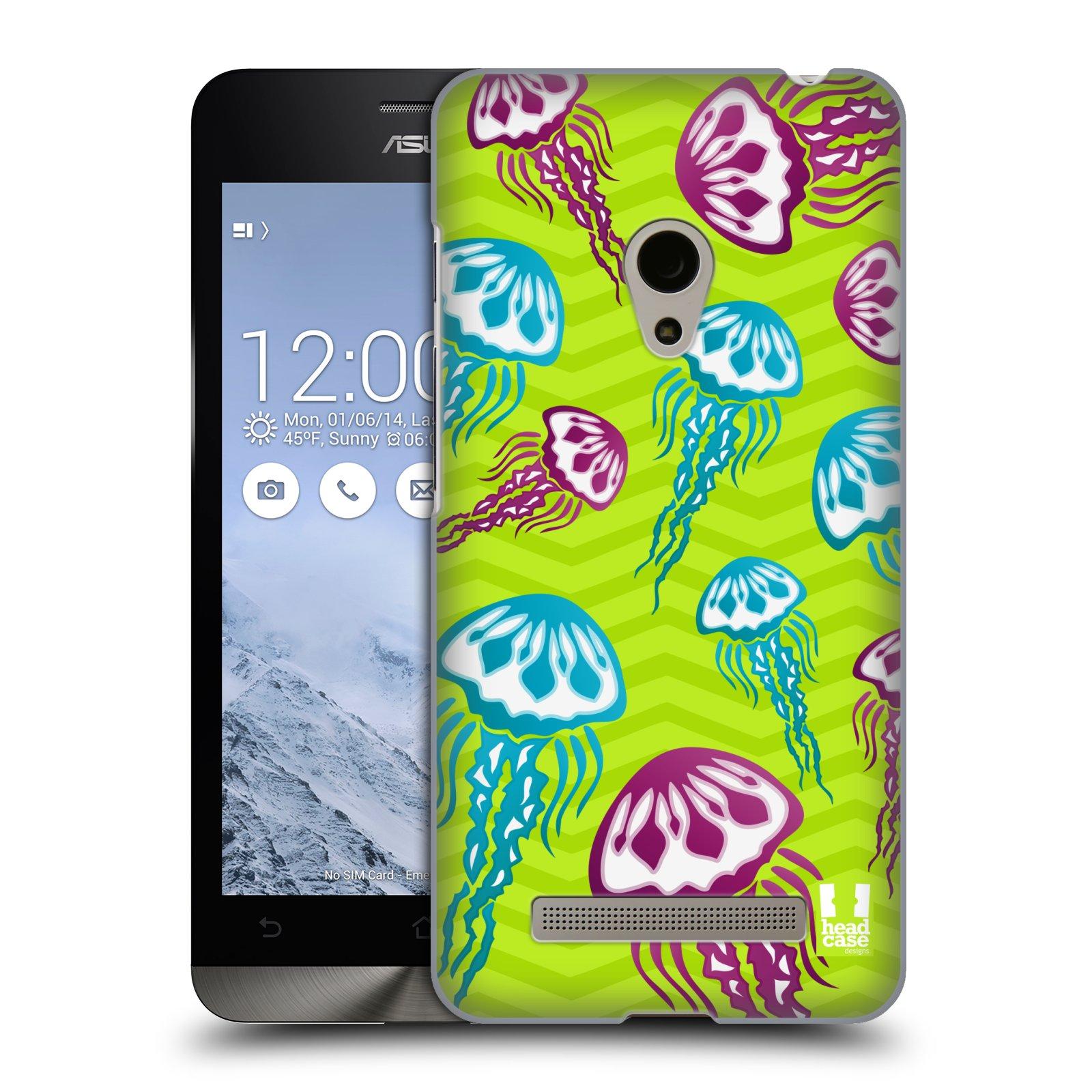 HEAD CASE plastový obal na mobil Asus Zenfone 5 vzor mořský živočich medůza