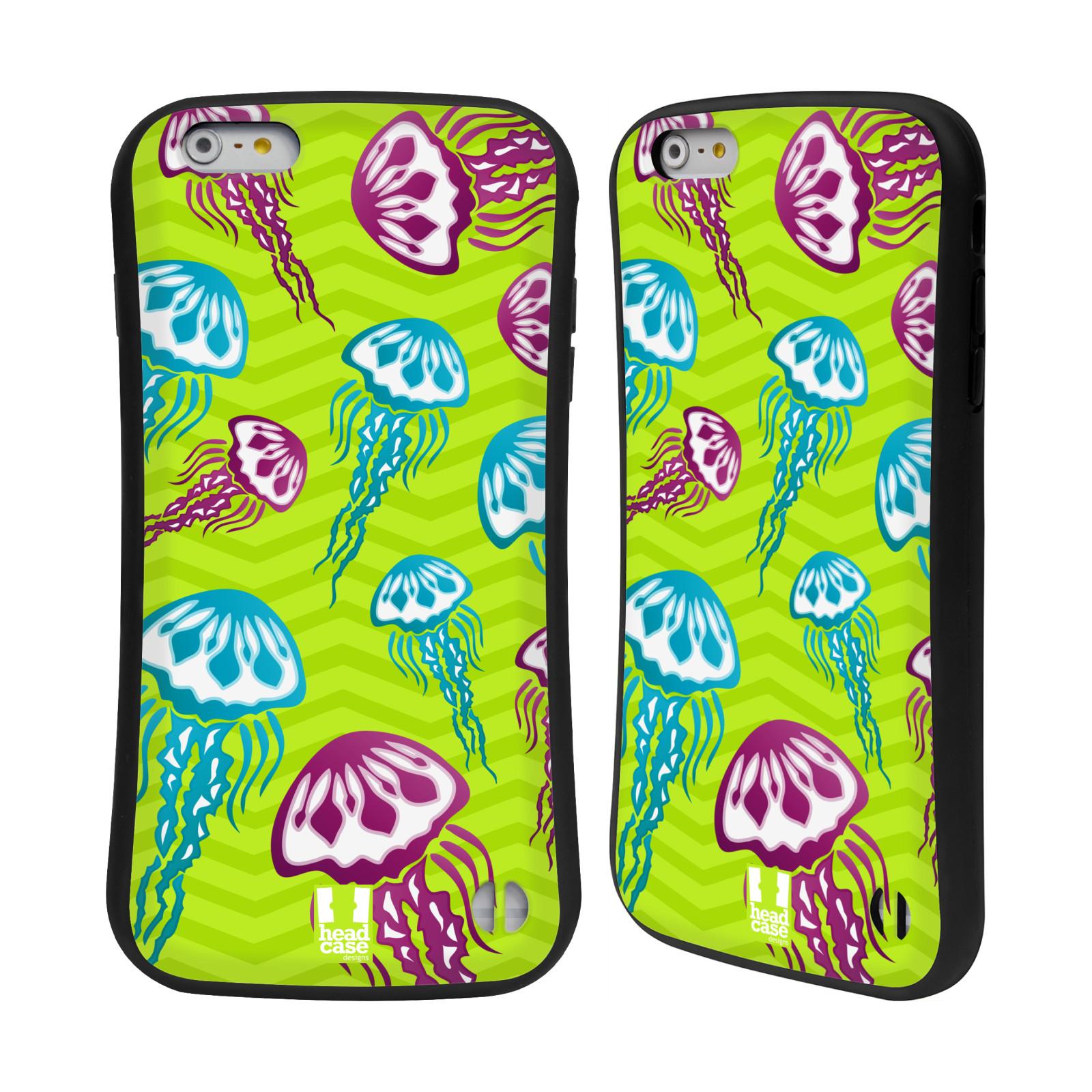 HEAD CASE silikon/plast odolný obal na mobil Apple Iphone 6 PLUS / 6S PLUS vzor mořský živočich medůza