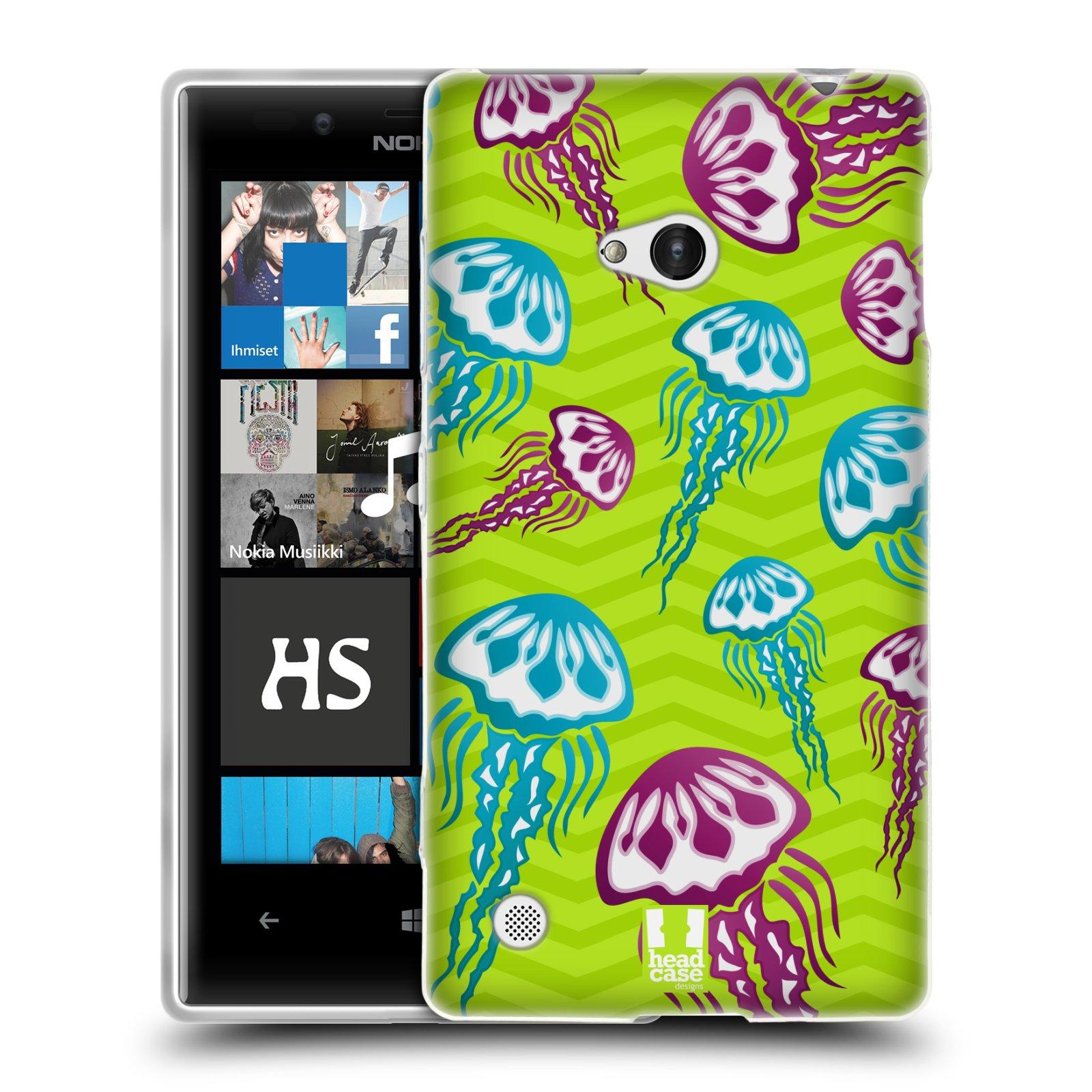 HEAD CASE silikonový obal na mobil NOKIA Lumia 720 vzor mořský živočich medůza