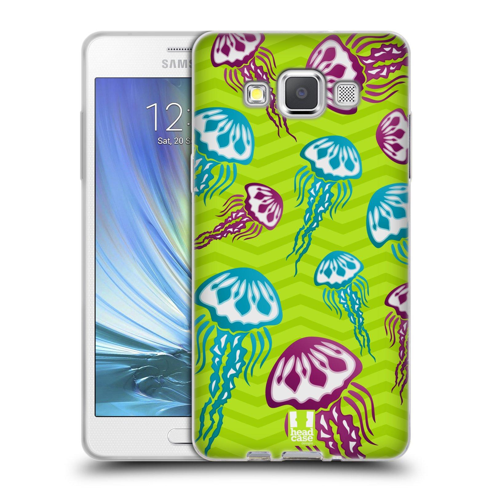HEAD CASE silikonový obal na mobil Samsung Galaxy A5 vzor mořský živočich medůza