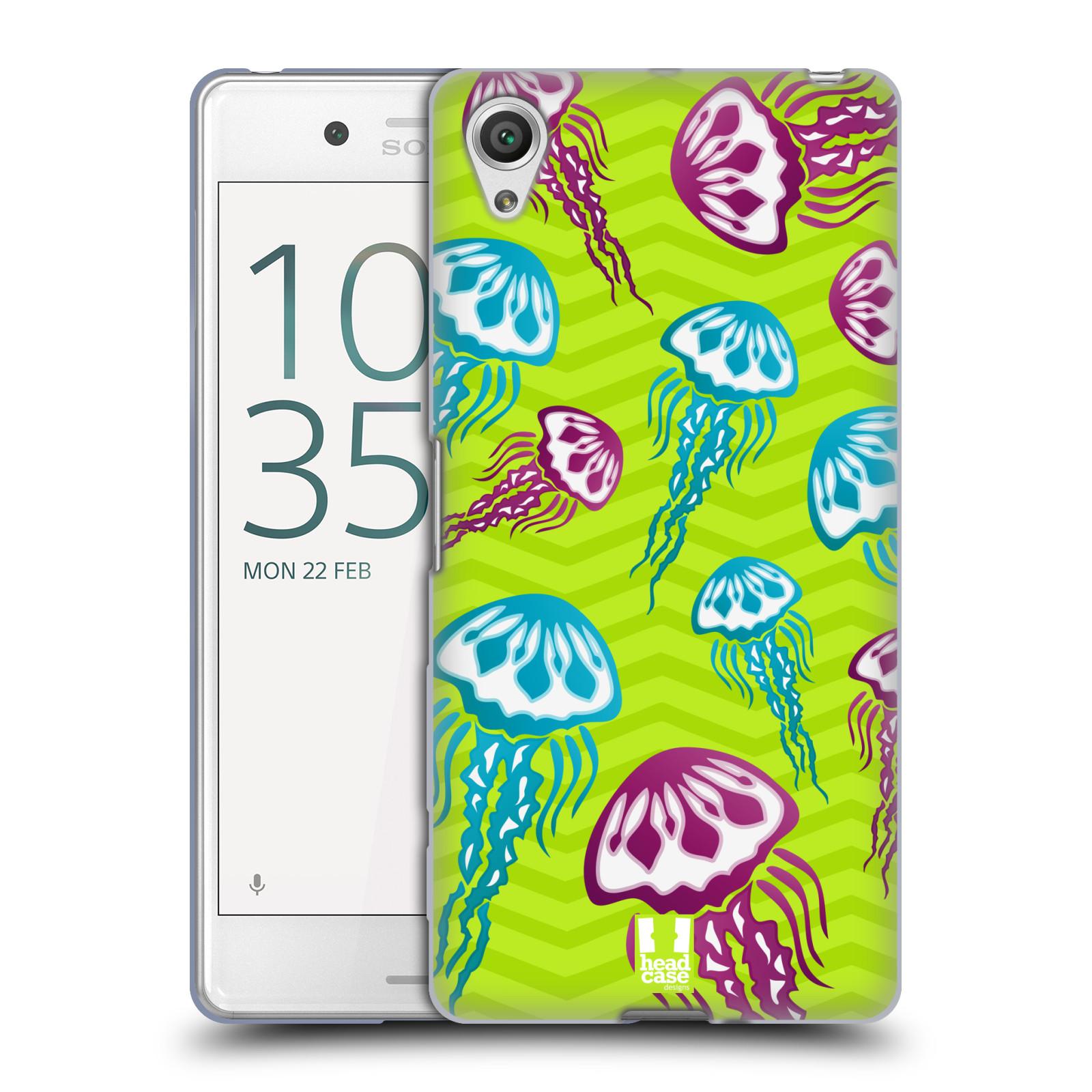 HEAD CASE silikonový obal na mobil Sony Xperia X PERFORMANCE (F8131, F8132) vzor mořský živočich medůza