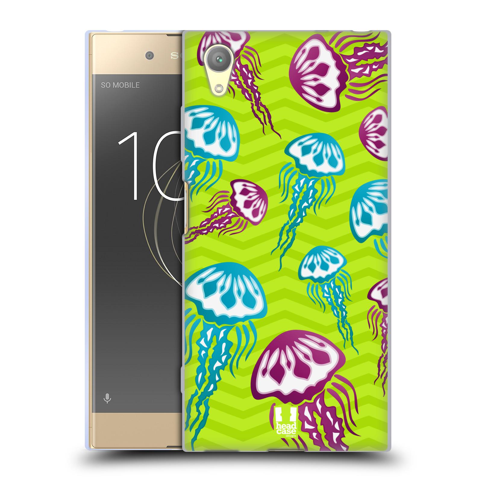 HEAD CASE silikonový obal na mobil Sony Xperia XA1 PLUS vzor mořský živočich medůza