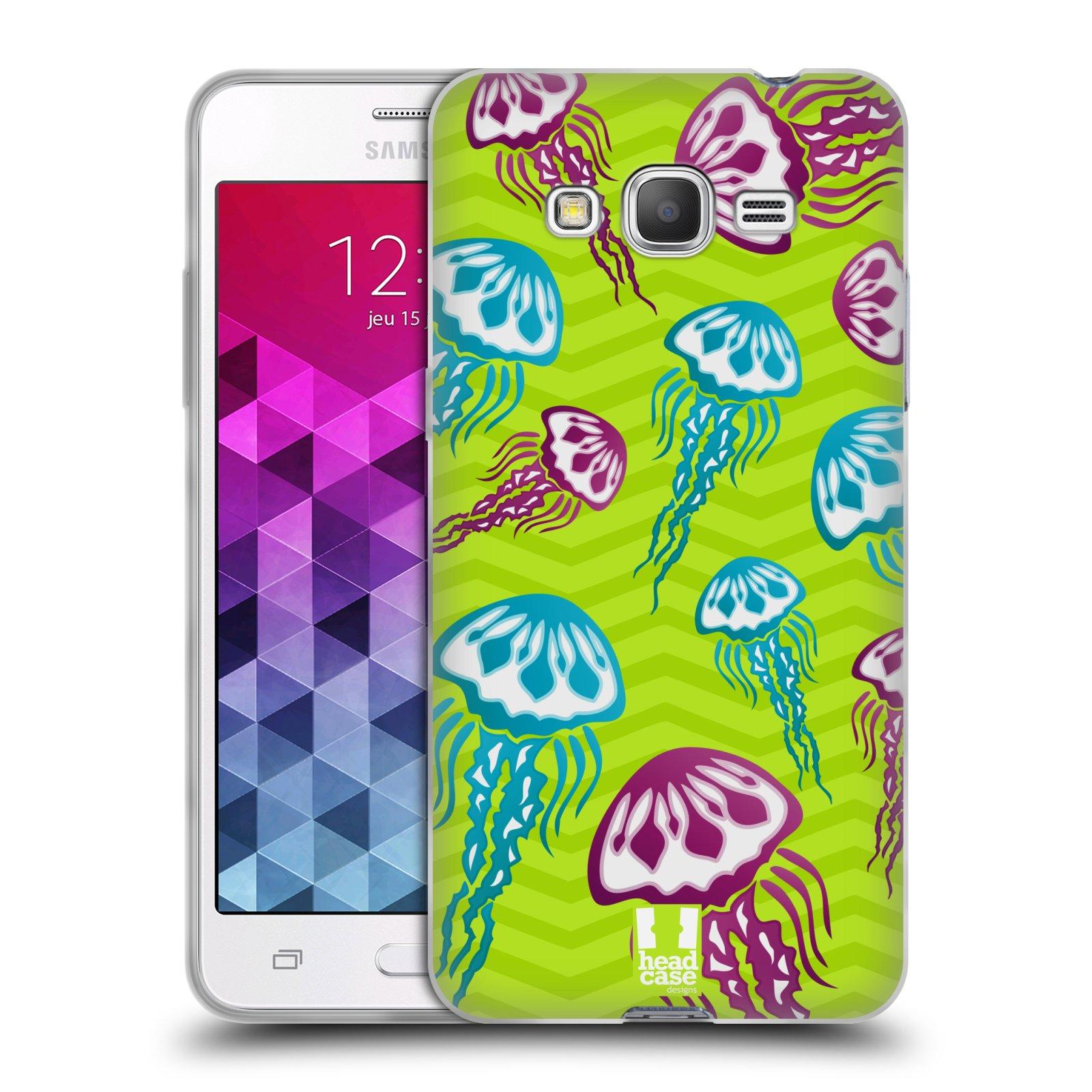 HEAD CASE silikonový obal na mobil Samsung Galaxy GRAND PRIME vzor mořský živočich medůza