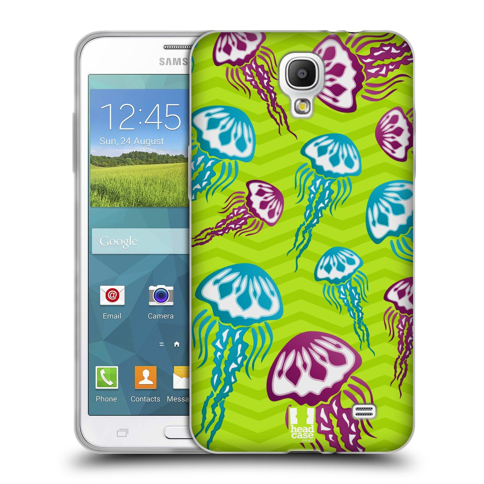 HEAD CASE silikonový obal na mobil Samsung Galaxy Mega 2 vzor mořský živočich medůza