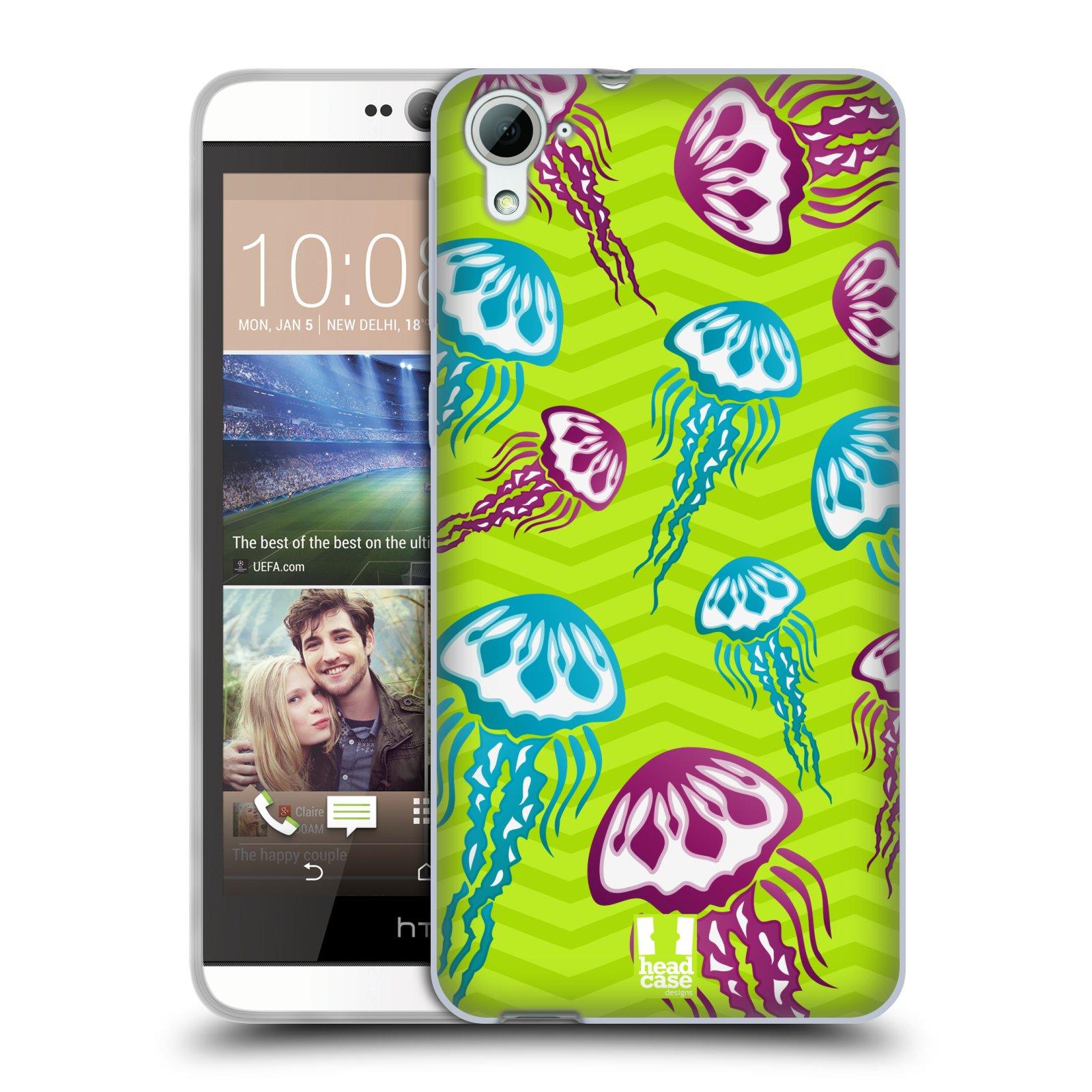 HEAD CASE silikonový obal na mobil HTC DESIRE 826 vzor mořský živočich medůza