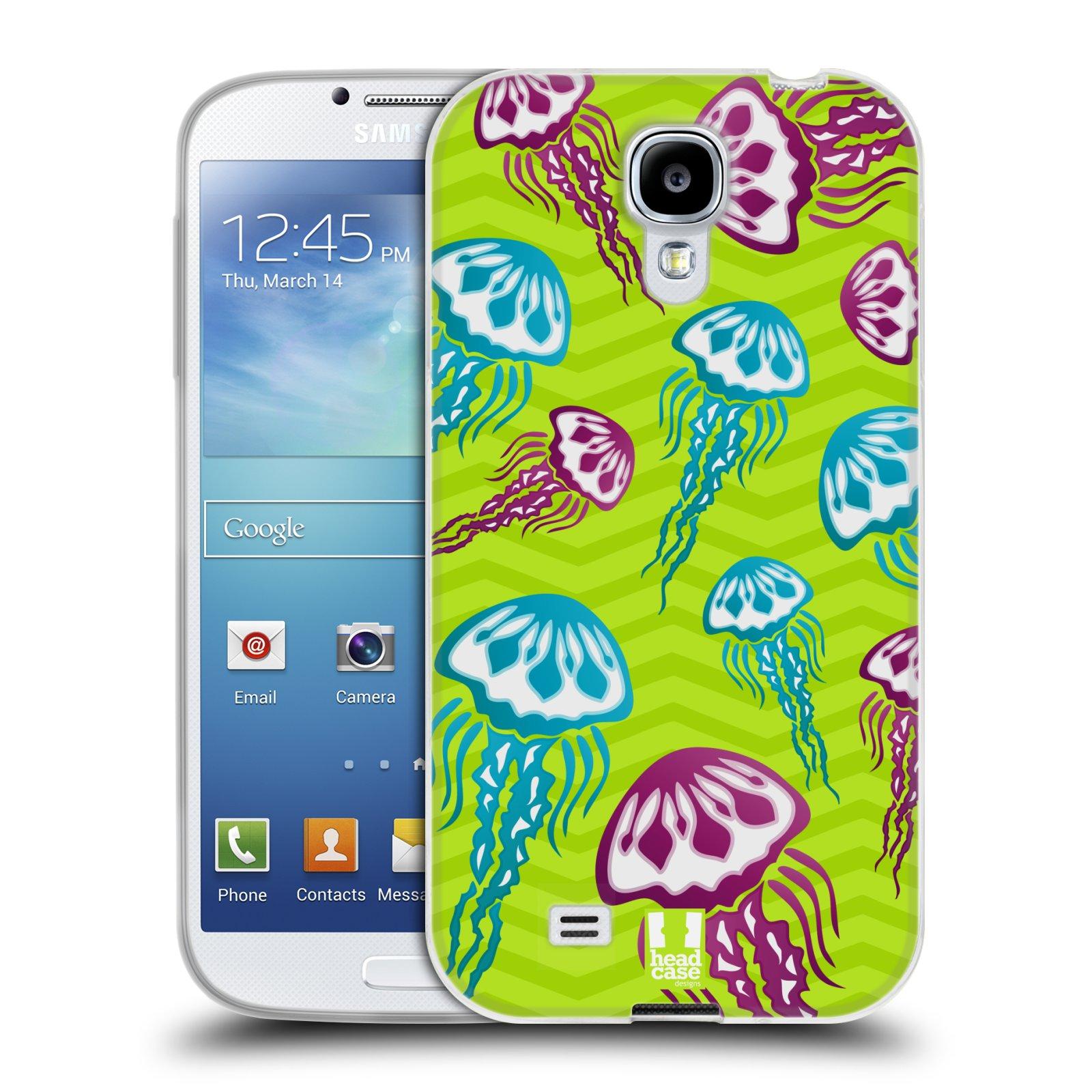 HEAD CASE silikonový obal na mobil Samsung Galaxy S4 i9500 vzor mořský živočich medůza