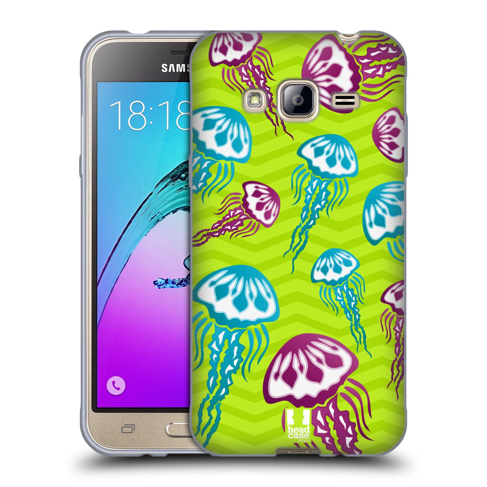 HEAD CASE silikonový obal na mobil Samsung Galaxy J3, J3 2016 vzor mořský živočich medůza