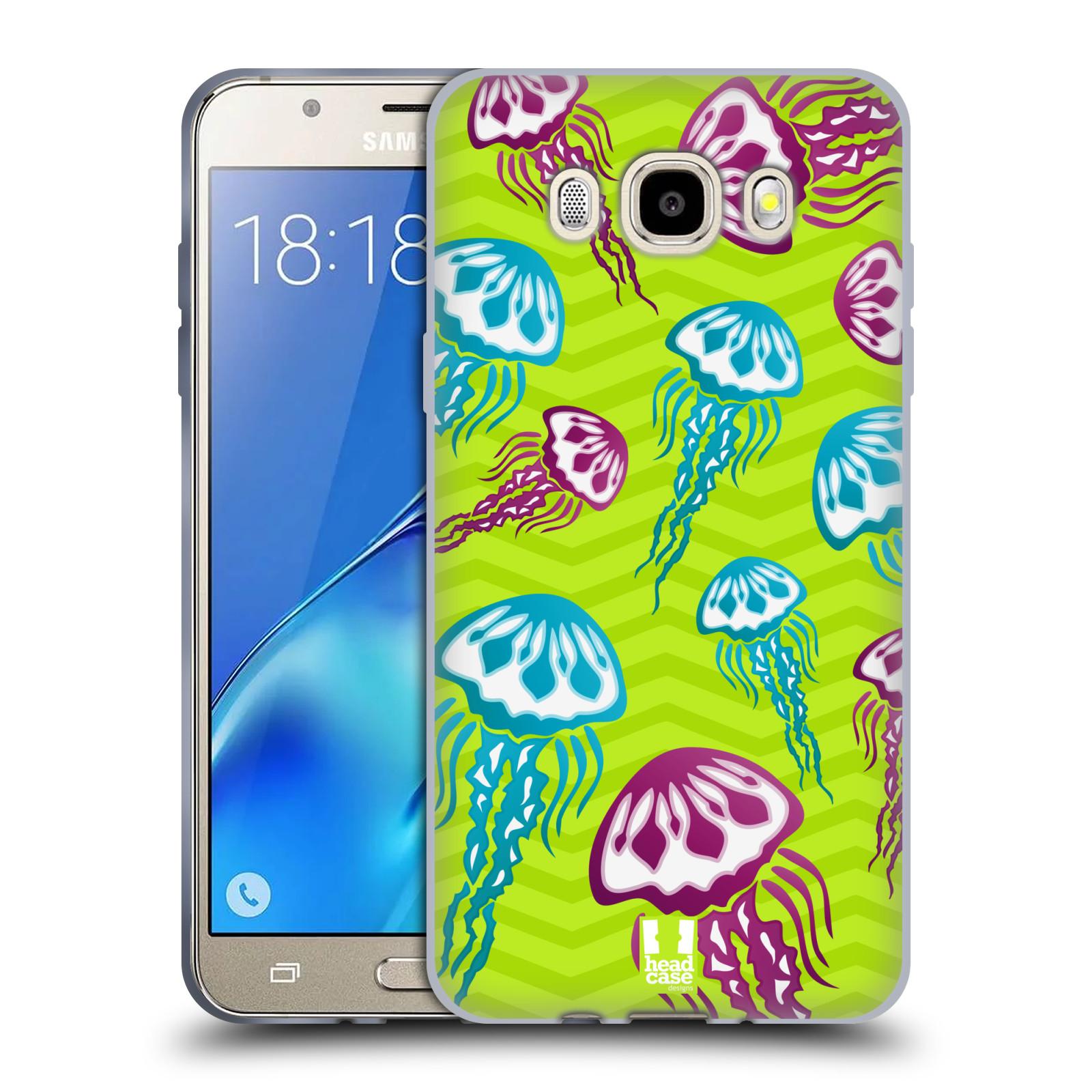 HEAD CASE silikonový obal, kryt na mobil Samsung Galaxy J5 2016, J510, J510F, (J510F DUAL SIM) vzor mořský živočich medůza