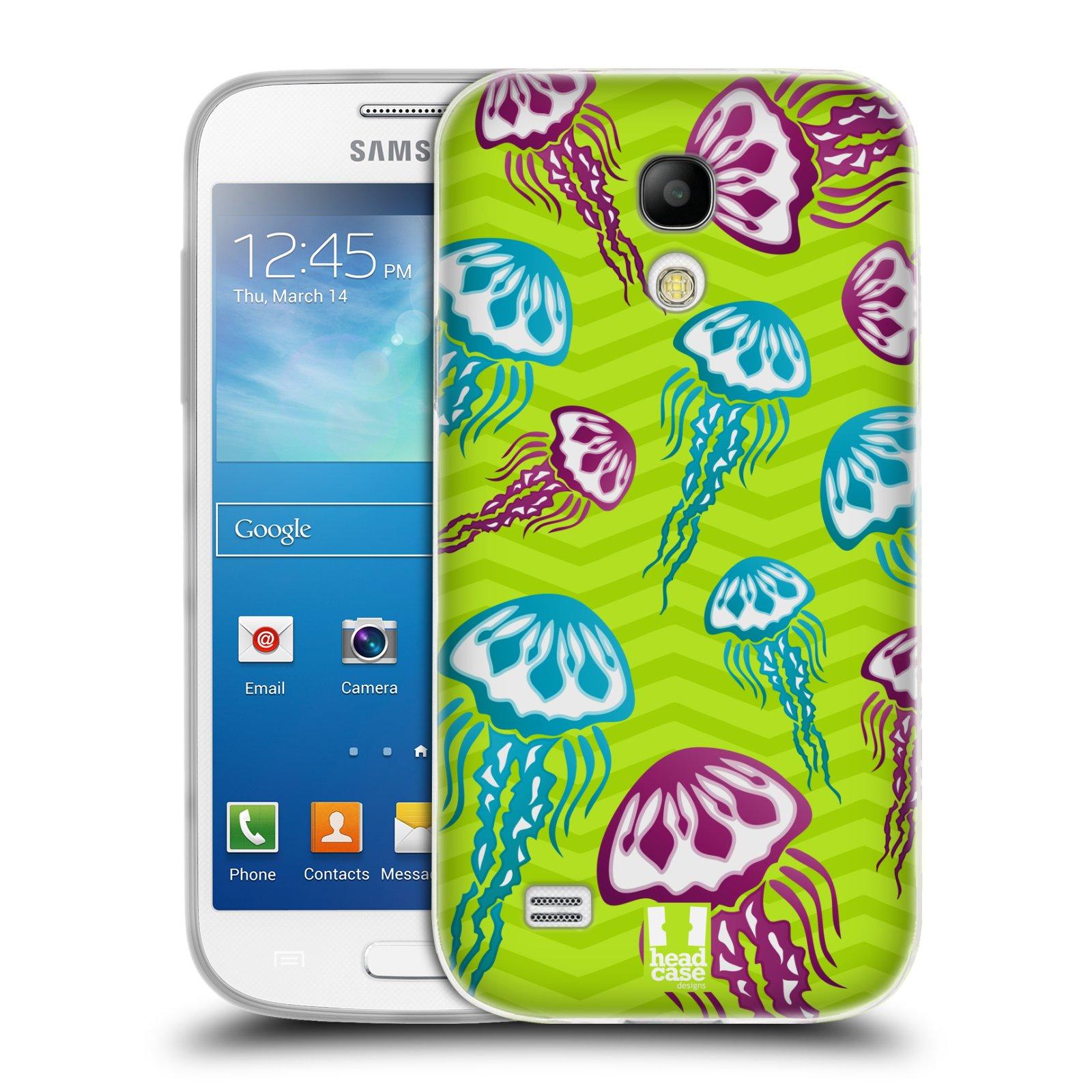 HEAD CASE silikonový obal na mobil Samsung Galaxy S4 MINI vzor mořský živočich medůza