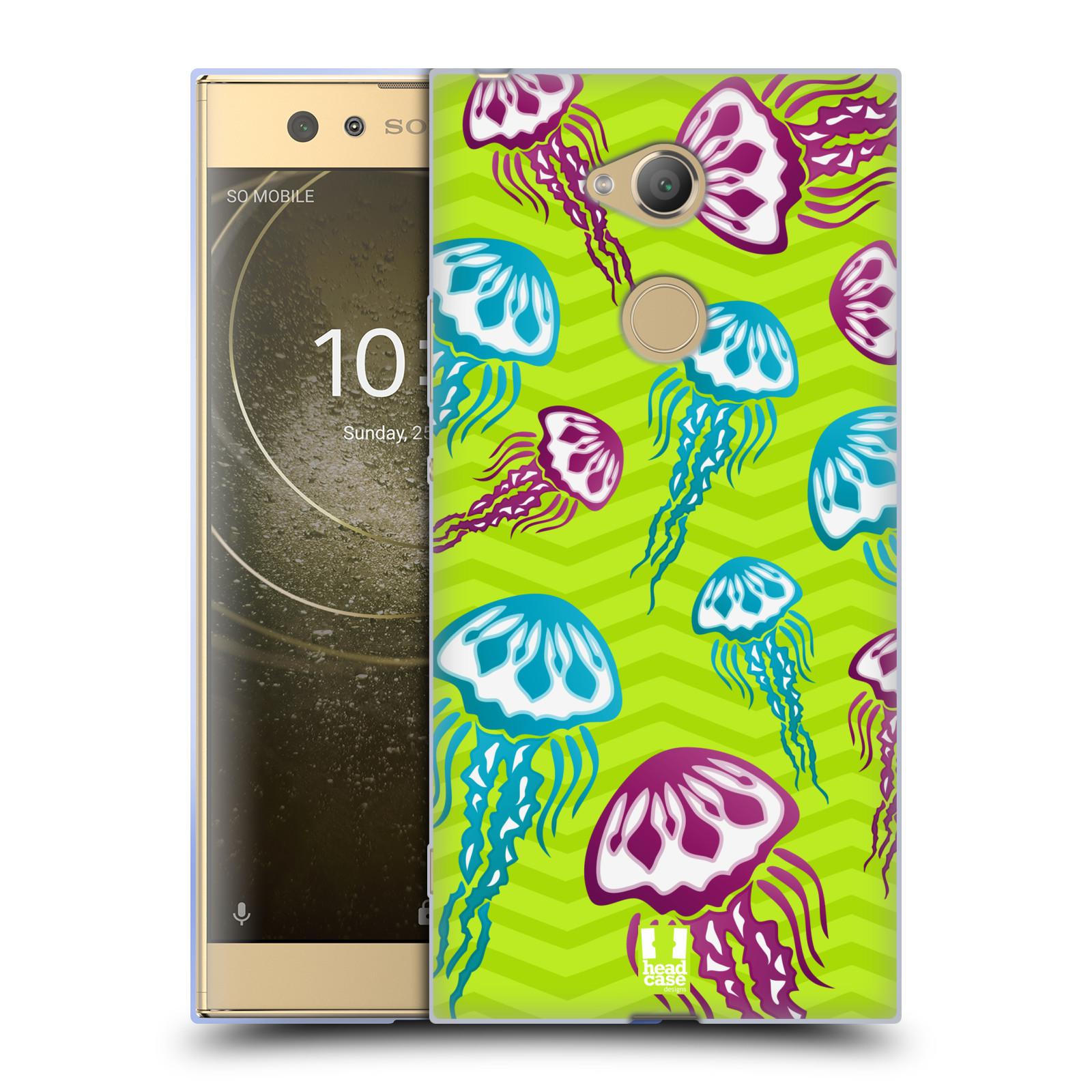 Pouzdro na mobil Sony Xperia XA2 Ultra vzor mořský živočich medůza