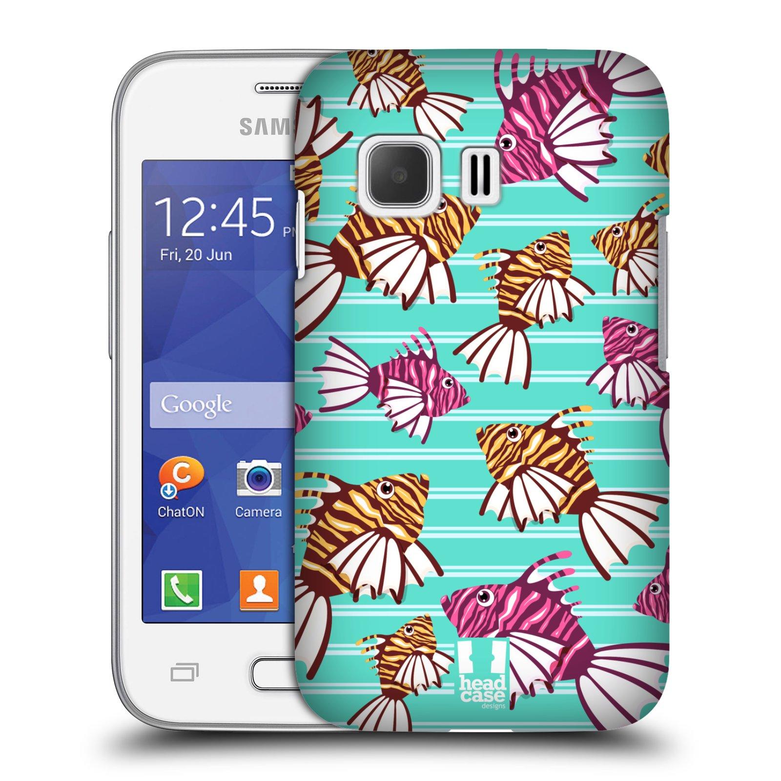 HEAD CASE plastový obal na mobil SAMSUNG Galaxy Young 2 (G130) vzor mořský živočich ryba