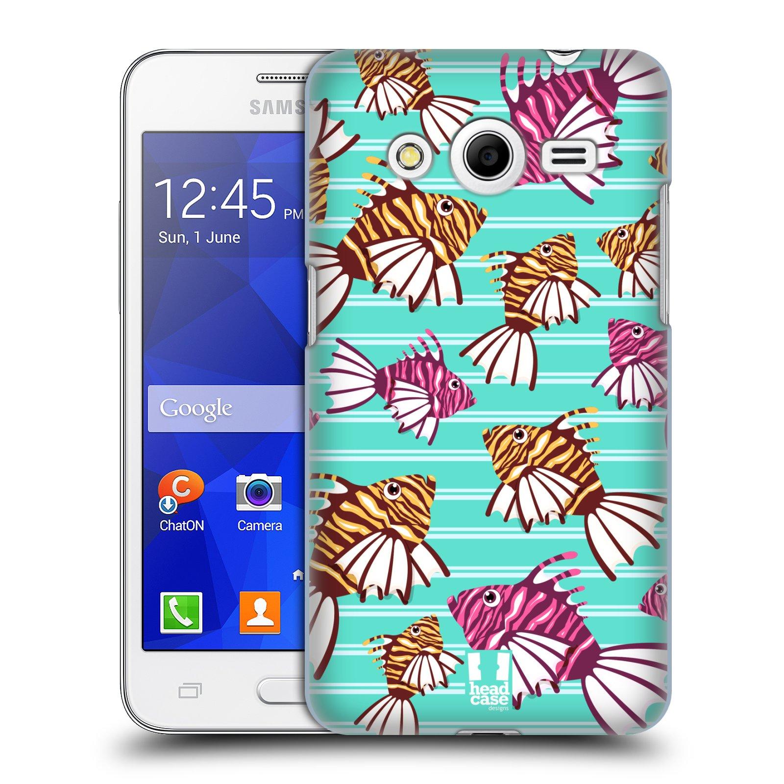 HEAD CASE plastový obal na mobil SAMSUNG GALAXY Core 2 (G355H) vzor mořský živočich ryba