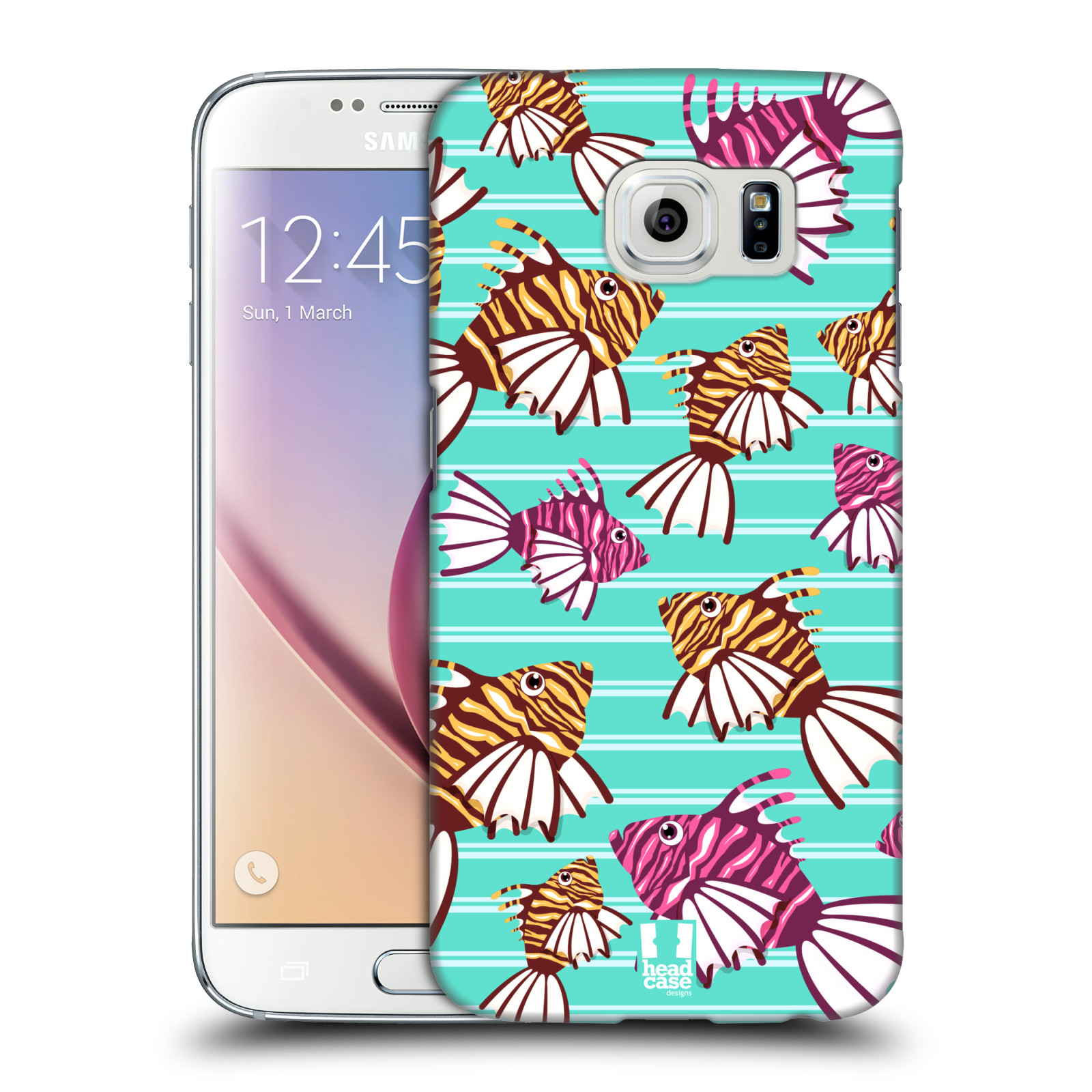 HEAD CASE plastový obal na mobil SAMSUNG Galaxy S6 (G9200, G920F) vzor mořský živočich ryba