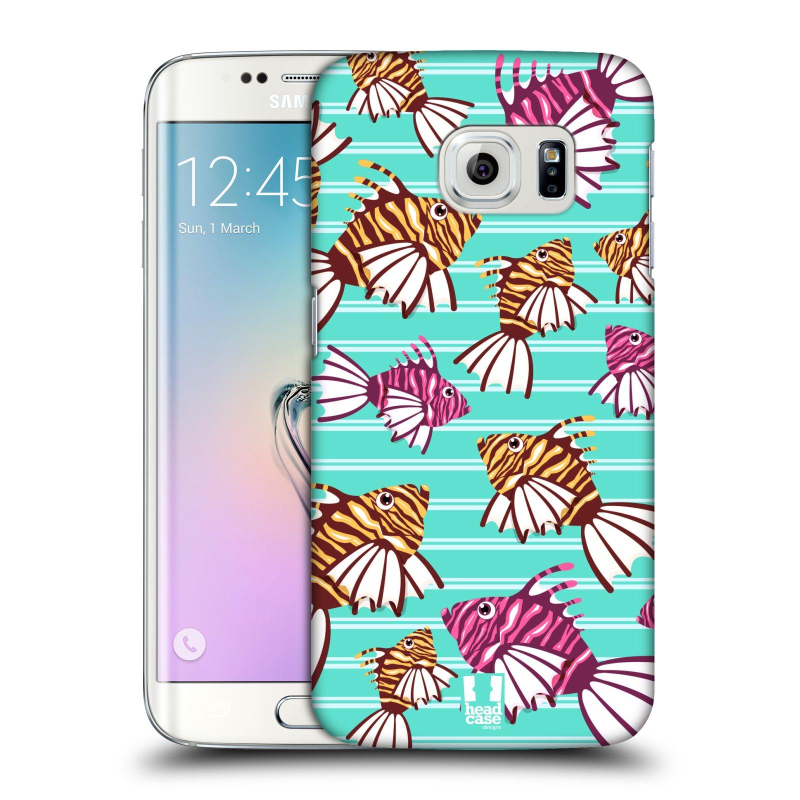 HEAD CASE plastový obal na mobil SAMSUNG Galaxy S6 EDGE (G9250, G925, G925F) vzor mořský živočich ryba