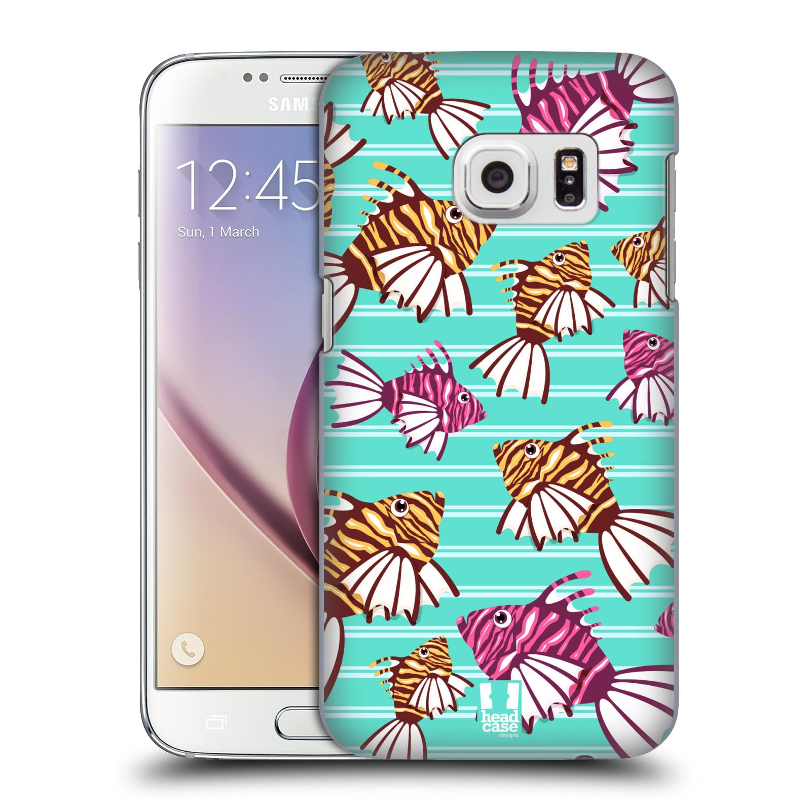 HEAD CASE plastový obal na mobil SAMSUNG GALAXY S7 vzor mořský živočich ryba