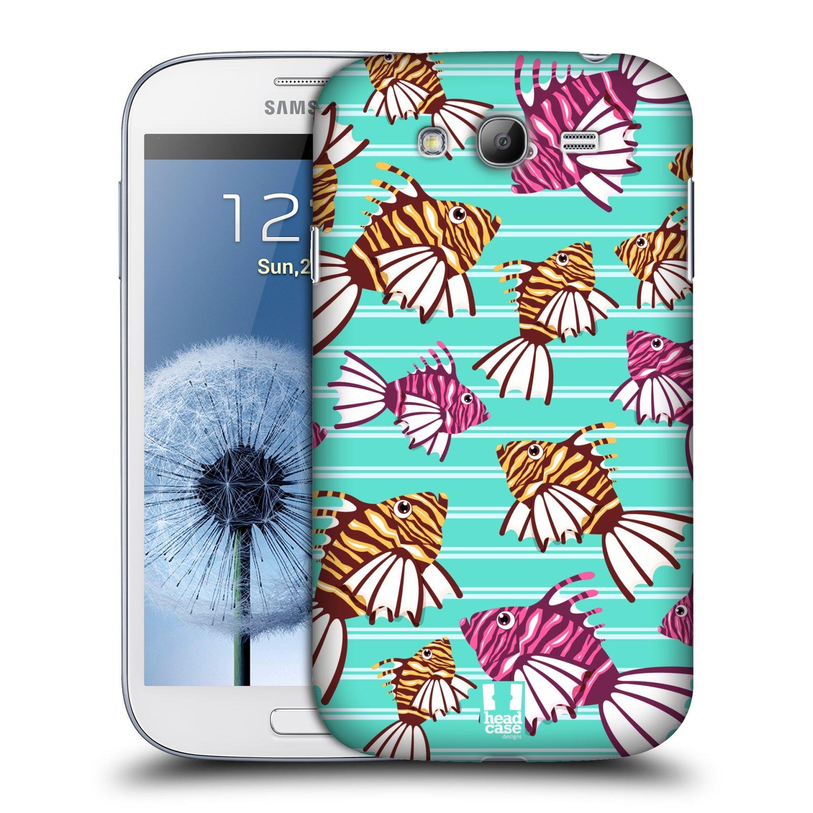 HEAD CASE plastový obal na mobil SAMSUNG GALAXY Grand i9080 vzor mořský živočich ryba