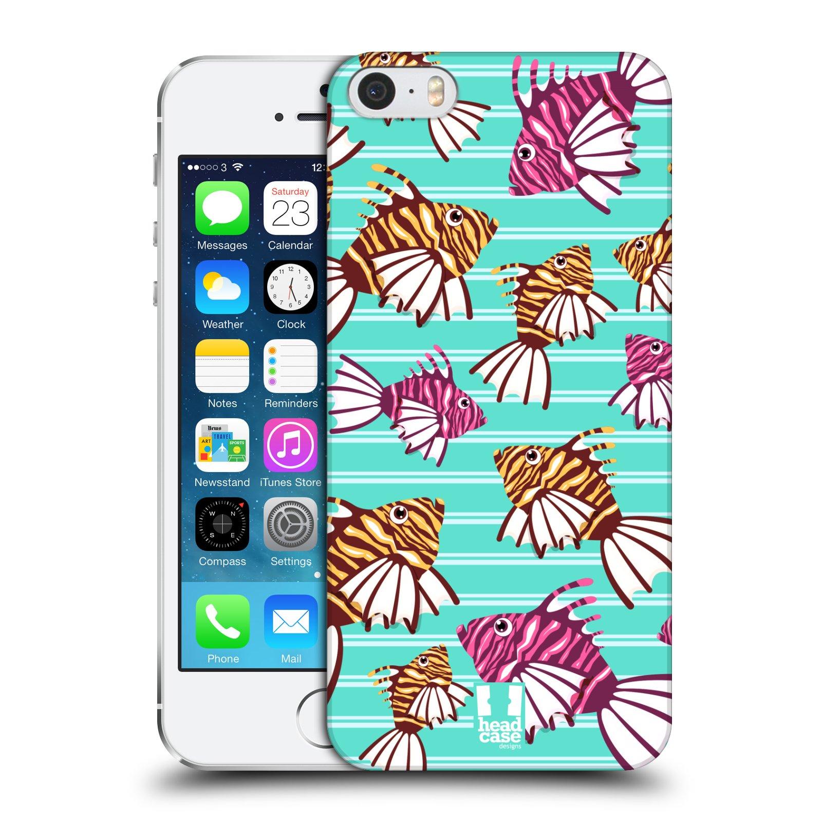Plastové pouzdro pro mobil Apple Iphone 5 / 5S / SE vzor mořský živočich ryba