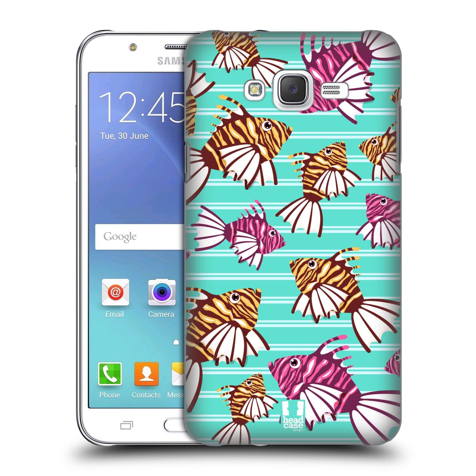 HEAD CASE plastový obal na mobil SAMSUNG Galaxy J7, J700 vzor mořský živočich ryba