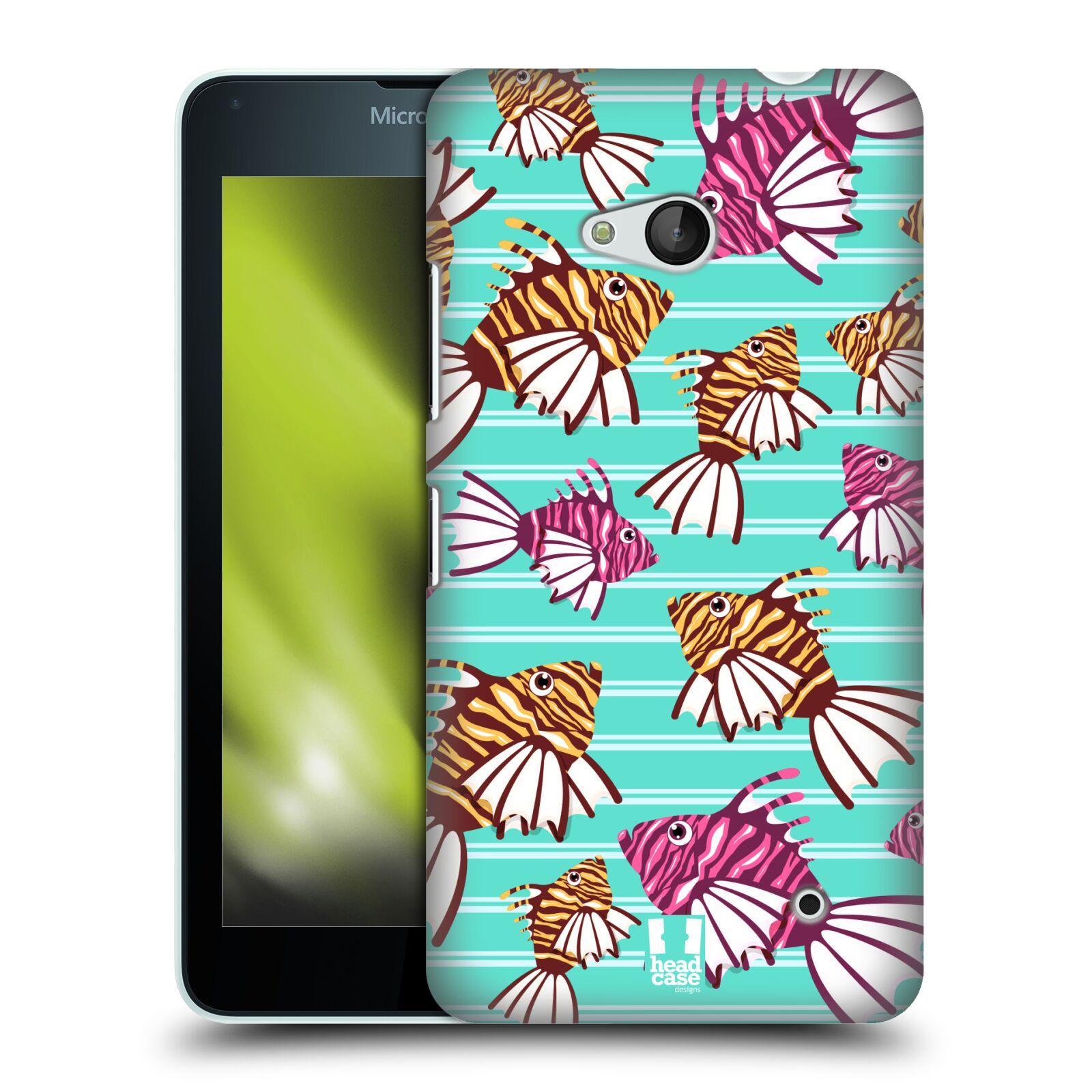 HEAD CASE plastový obal na mobil Nokia Lumia 640 vzor mořský živočich ryba