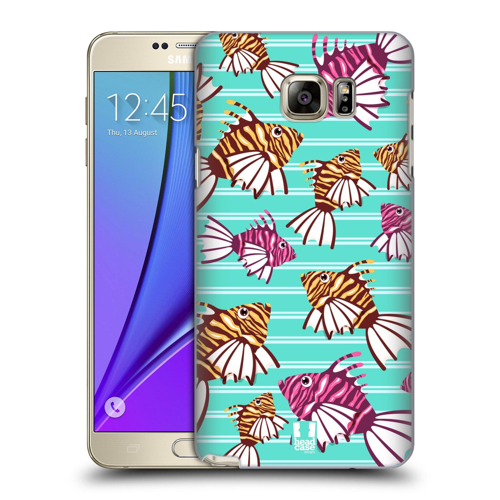 HEAD CASE plastový obal na mobil SAMSUNG Galaxy Note 5 (N920) vzor mořský živočich ryba