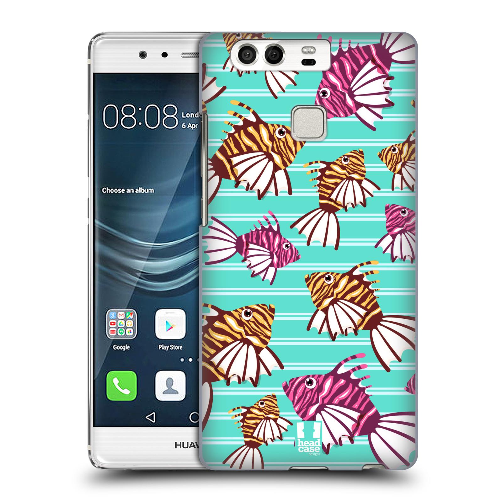 HEAD CASE plastový obal na mobil Huawei P9 / P9 DUAL SIM vzor mořský živočich ryba