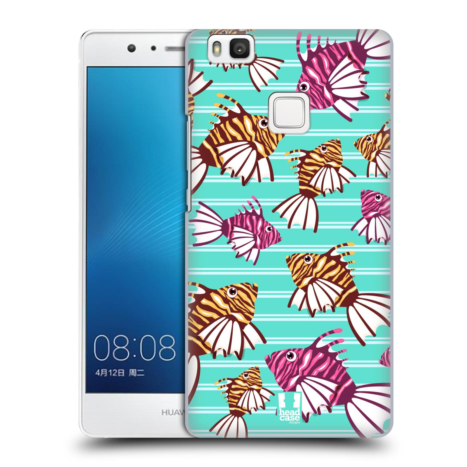 HEAD CASE plastový obal na mobil Huawei P9 LITE / P9 LITE DUAL SIM vzor mořský živočich ryba
