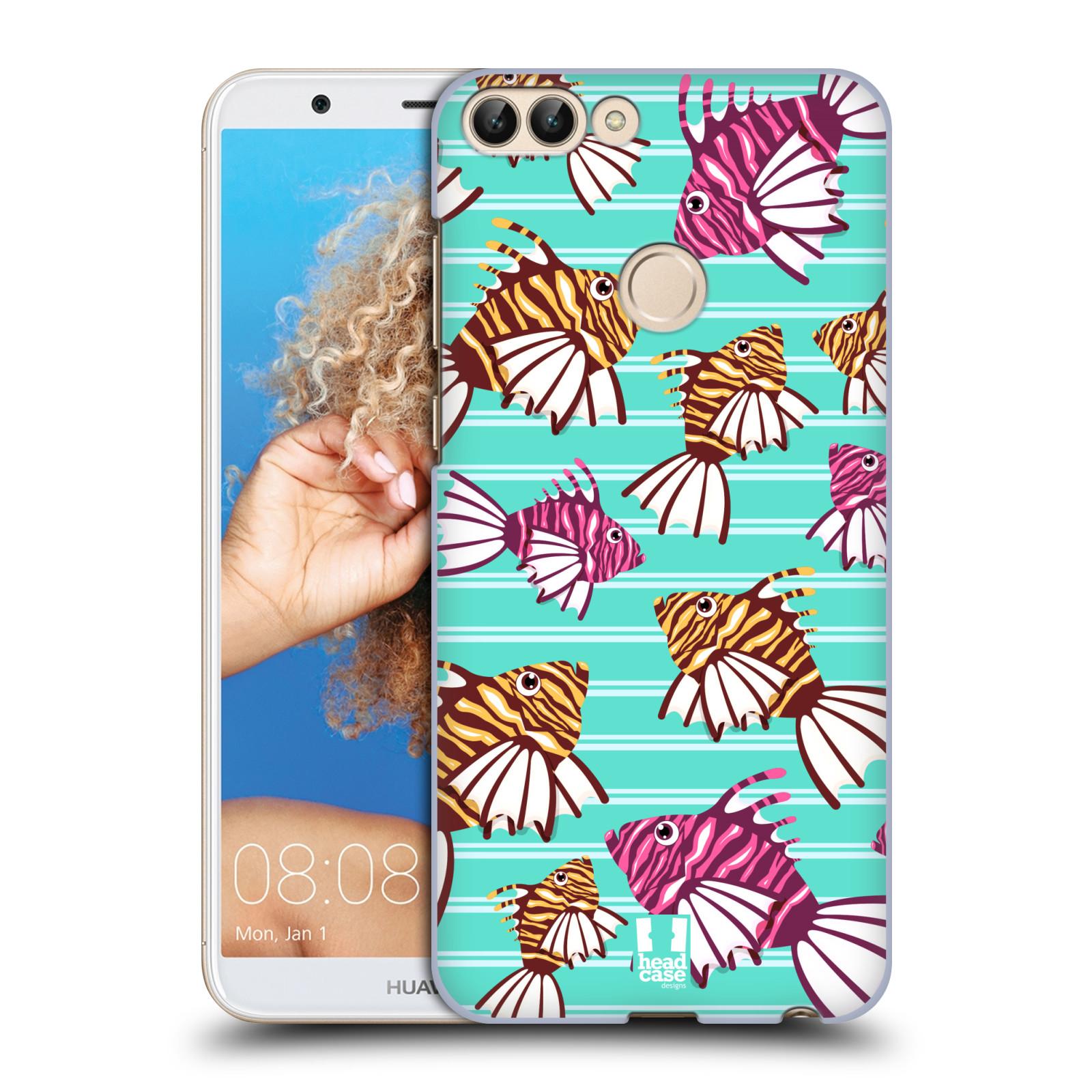 HEAD CASE plastový obal na mobil Huawei P Smart vzor mořský živočich ryba
