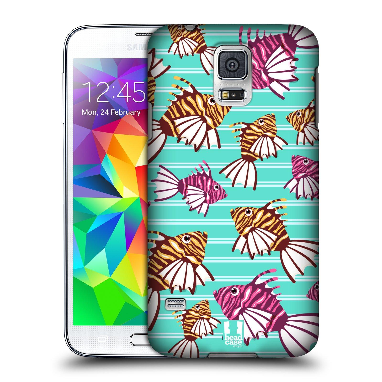 HEAD CASE plastový obal na mobil SAMSUNG Galaxy SS / S5 NEO (G900, G903F) vzor mořský živočich ryba