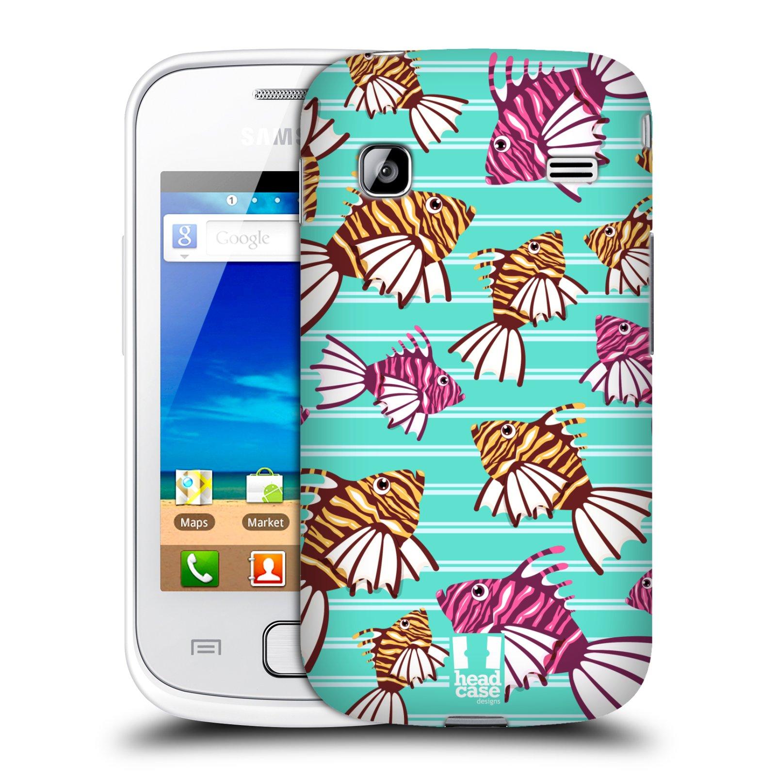 HEAD CASE plastový obal na mobil SAMSUNG GALAXY GIO (S5660) vzor mořský živočich ryba