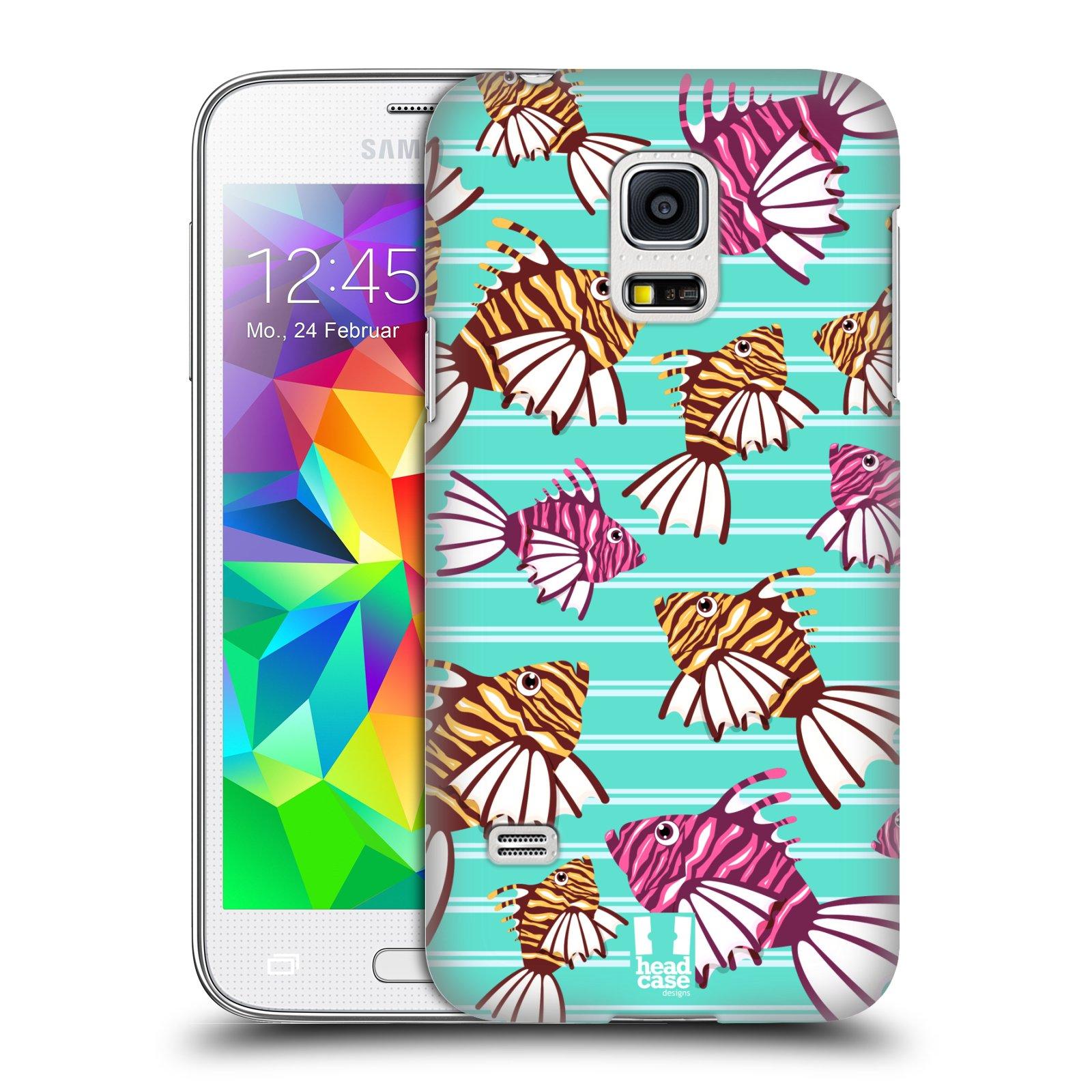 HEAD CASE plastový obal na mobil SAMSUNG Galaxy S5 MINI / S5 MINI DUOS vzor mořský živočich ryba