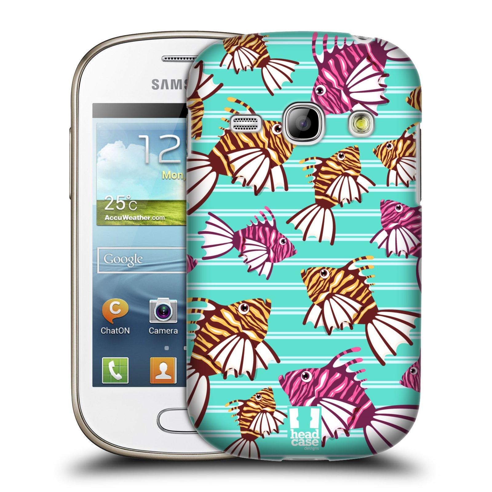 HEAD CASE plastový obal na mobil SAMSUNG GALAXY FAME (S6810) vzor mořský živočich ryba