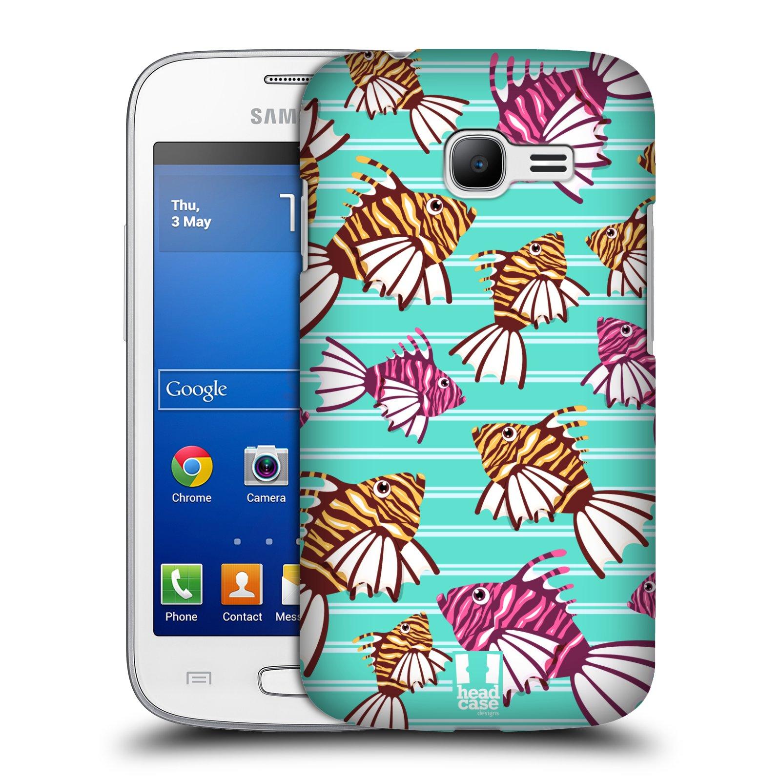 HEAD CASE plastový obal na mobil SAMSUNG GALAXY Star Pro S7260/S7262 DUOS vzor mořský živočich ryba