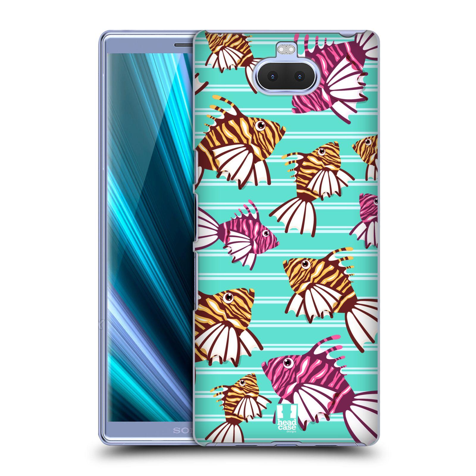 Pouzdro na mobil Sony Xperia 10 Plus - Head Case - vzor mořský živočich ryba