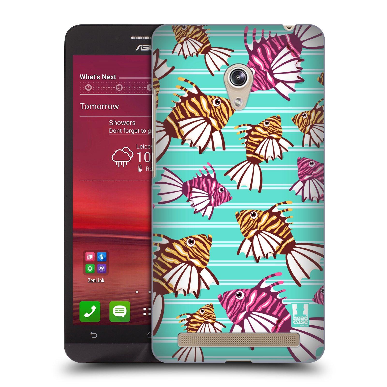 HEAD CASE plastový obal na mobil Asus Zenfone 6 vzor mořský živočich ryba
