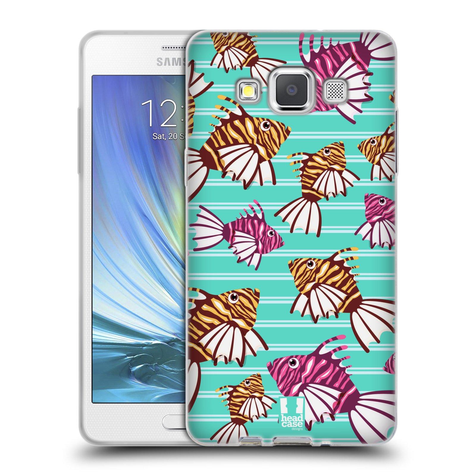 HEAD CASE silikonový obal na mobil Samsung Galaxy A5 vzor mořský živočich ryba